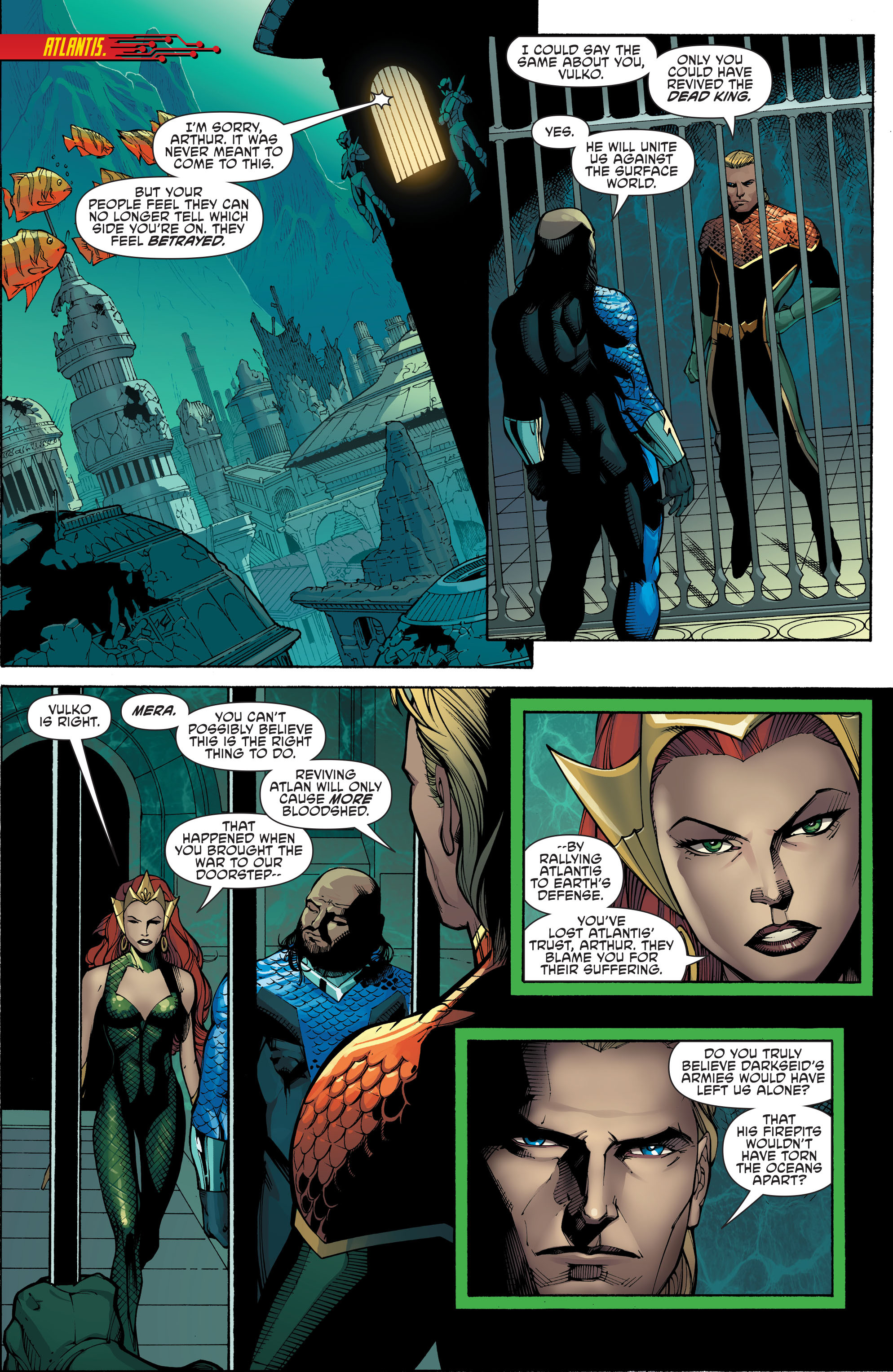 Read online Aquaman and the Others: Futures End comic -  Issue #Aquaman and the Others: Futures End Full - 7