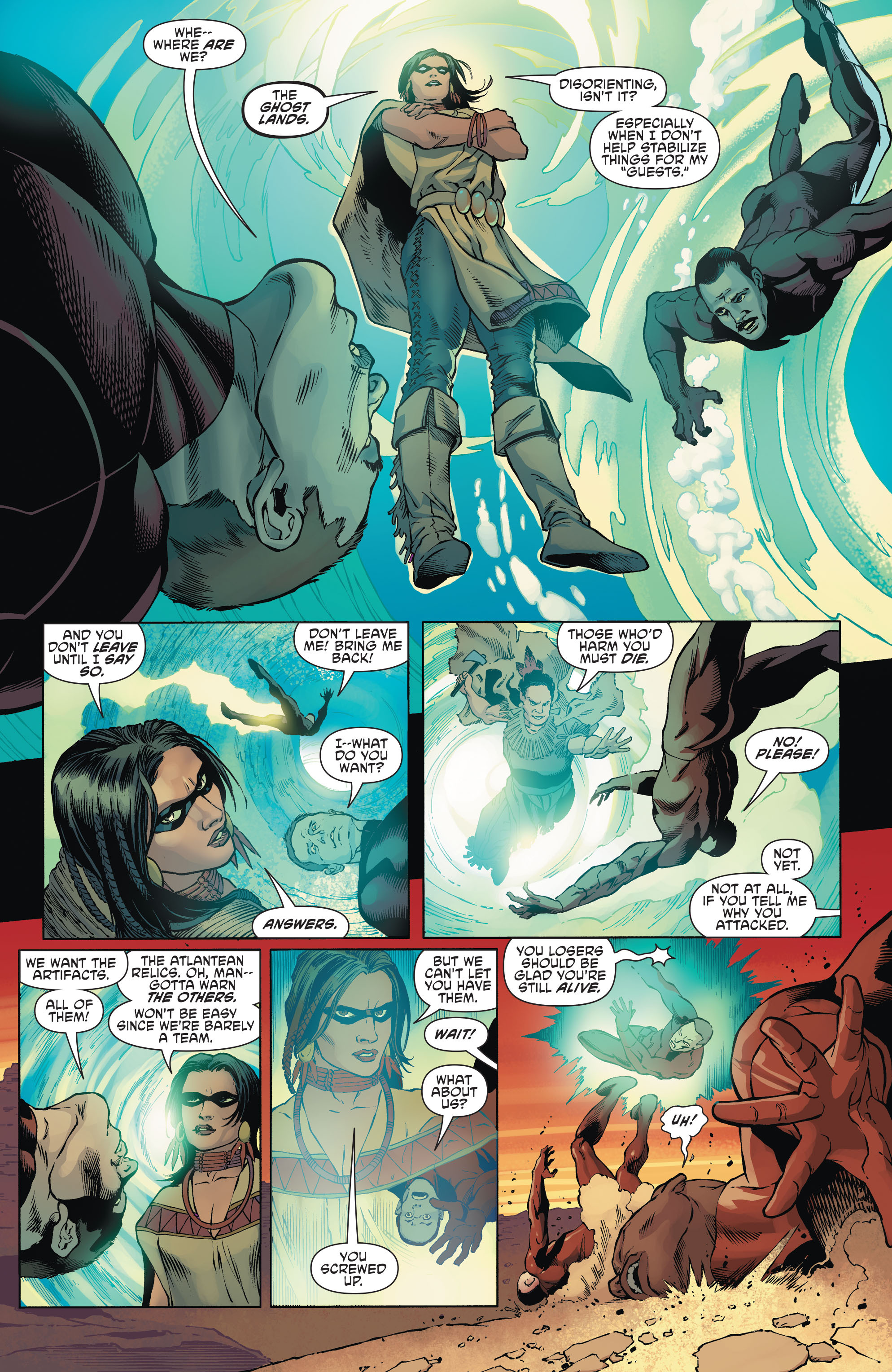 Read online Aquaman and the Others comic -  Issue #1 - 11