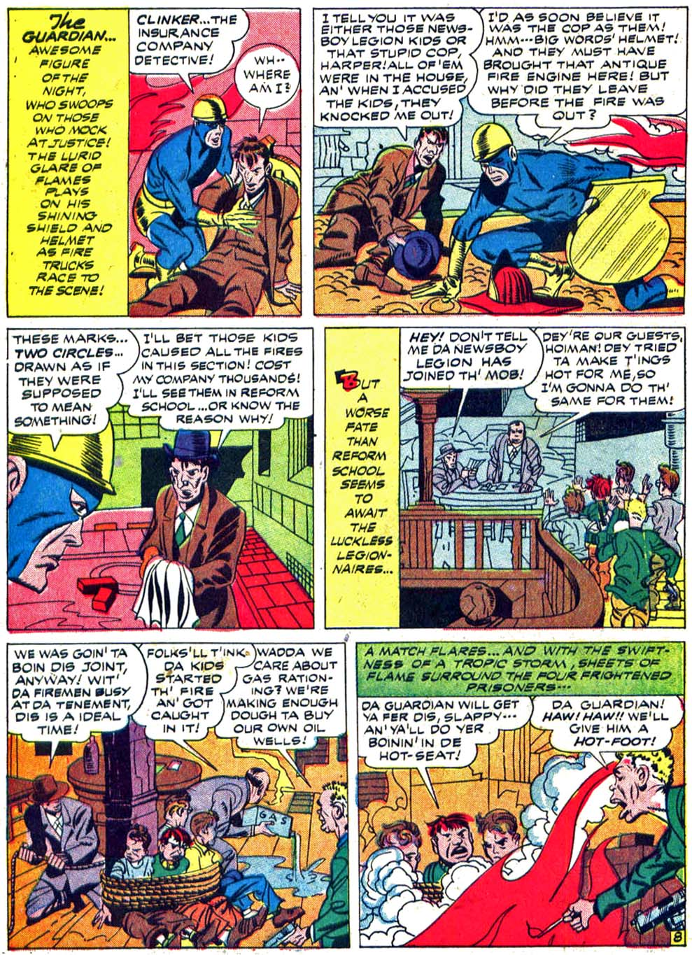 Star Spangled Comics (1941) issue 27 - Page 10