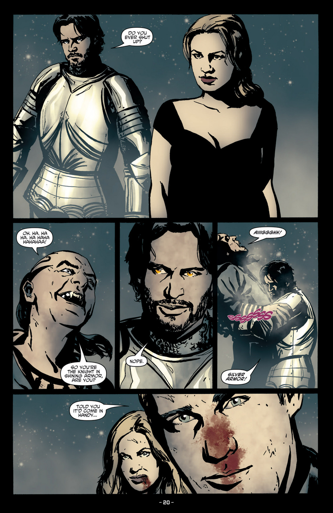 Read online True Blood (2012) comic -  Issue #4 - 22
