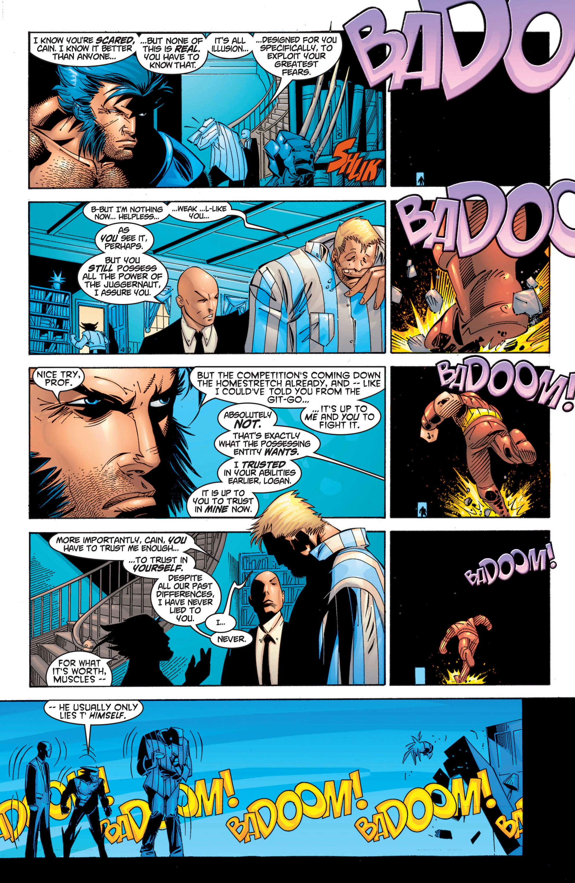 Read online Uncanny X-Men (1963) comic -  Issue #369 - 11
