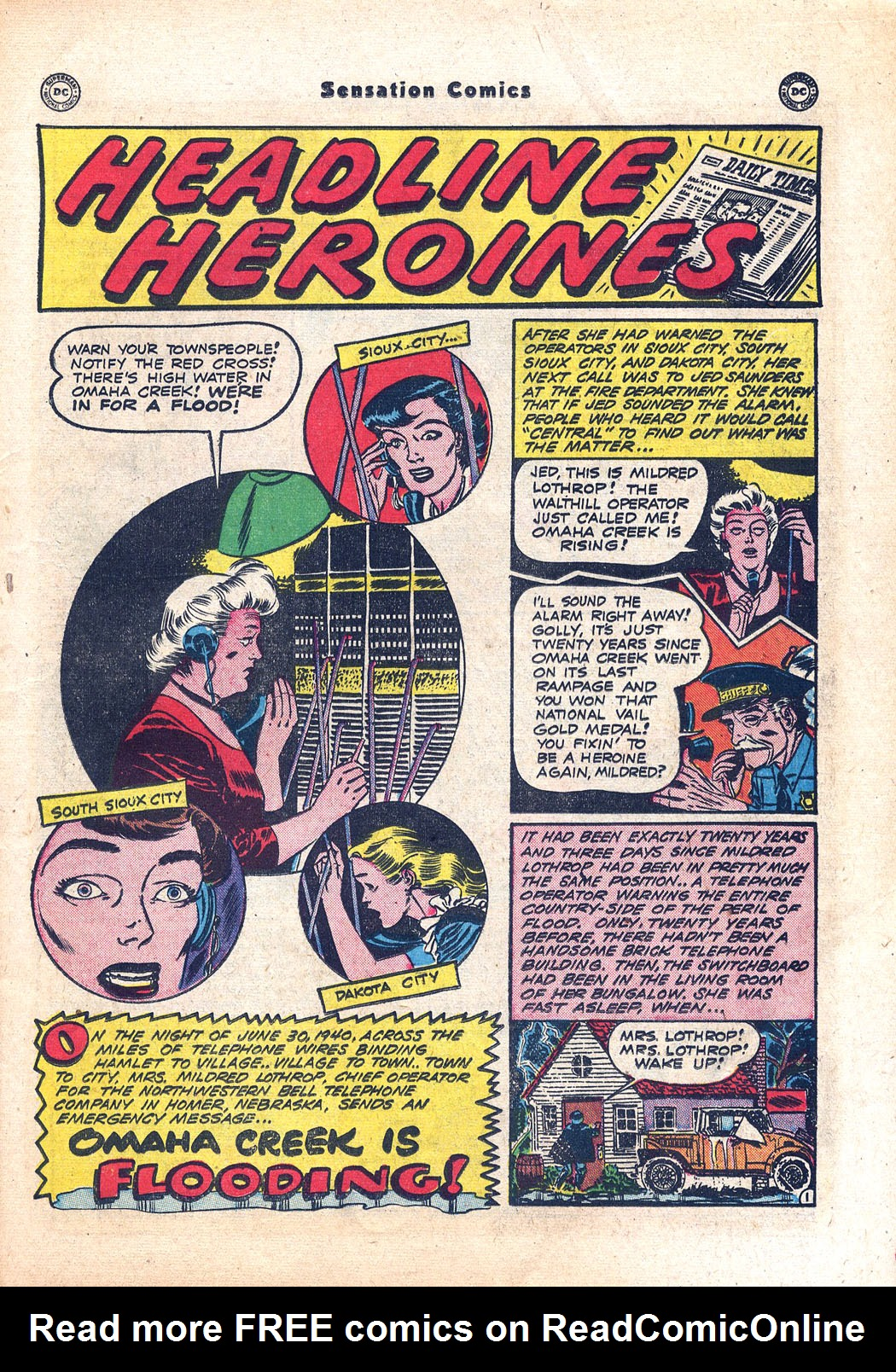 Read online Sensation (Mystery) Comics comic -  Issue #94 - 17