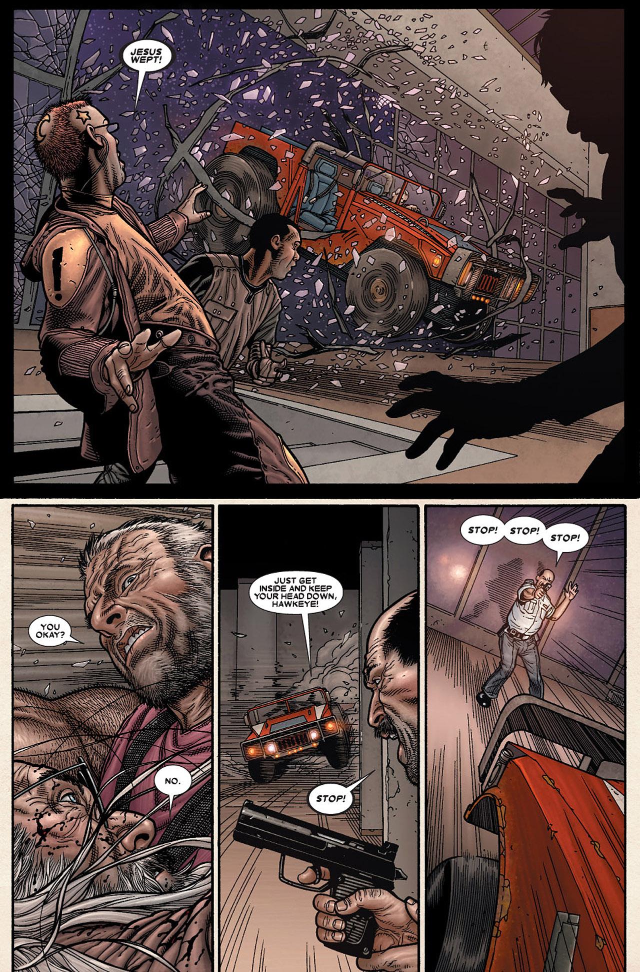 Read online Wolverine: Old Man Logan comic -  Issue # Full - 74