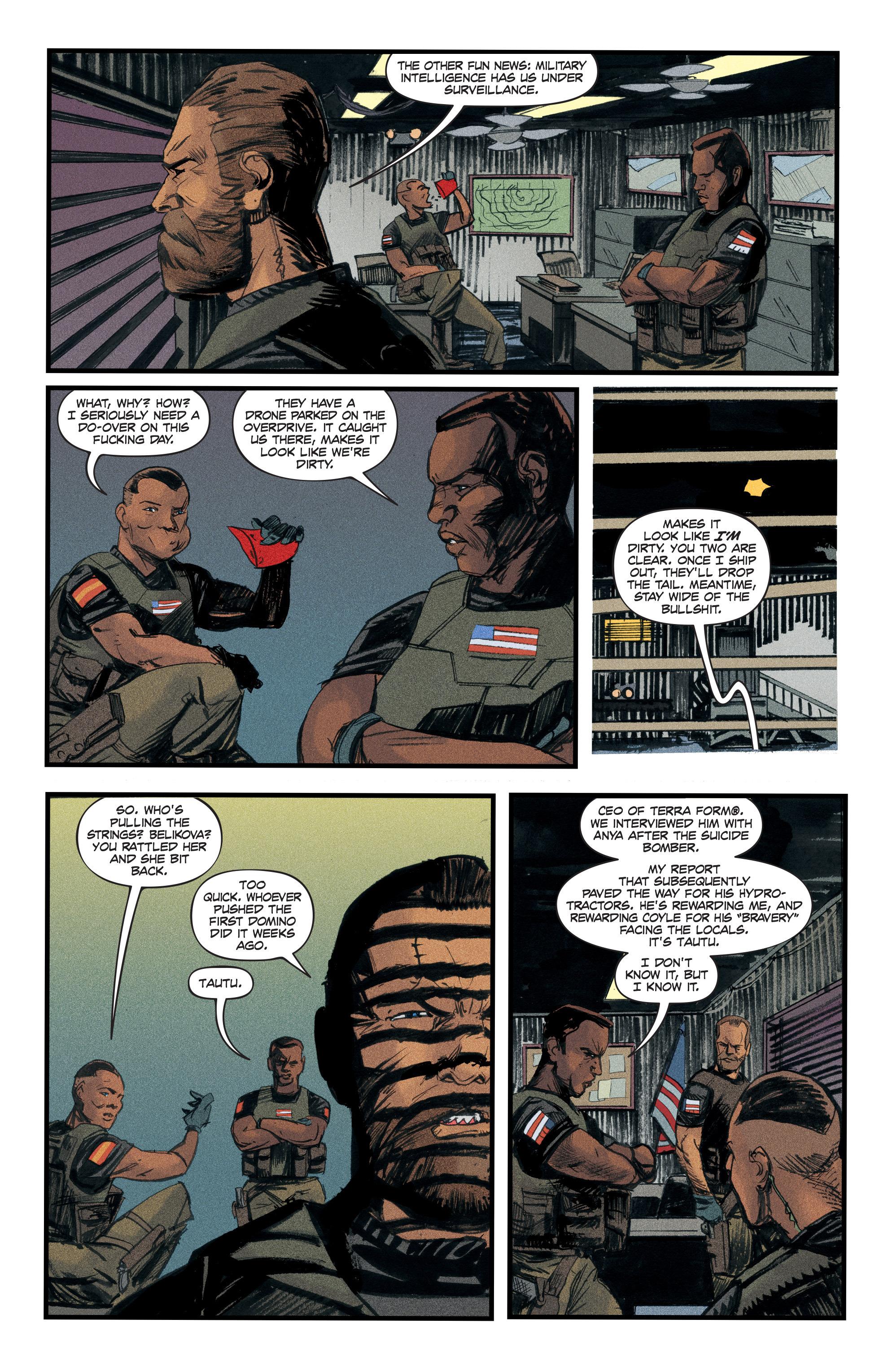Read online Redline comic -  Issue #3 - 16