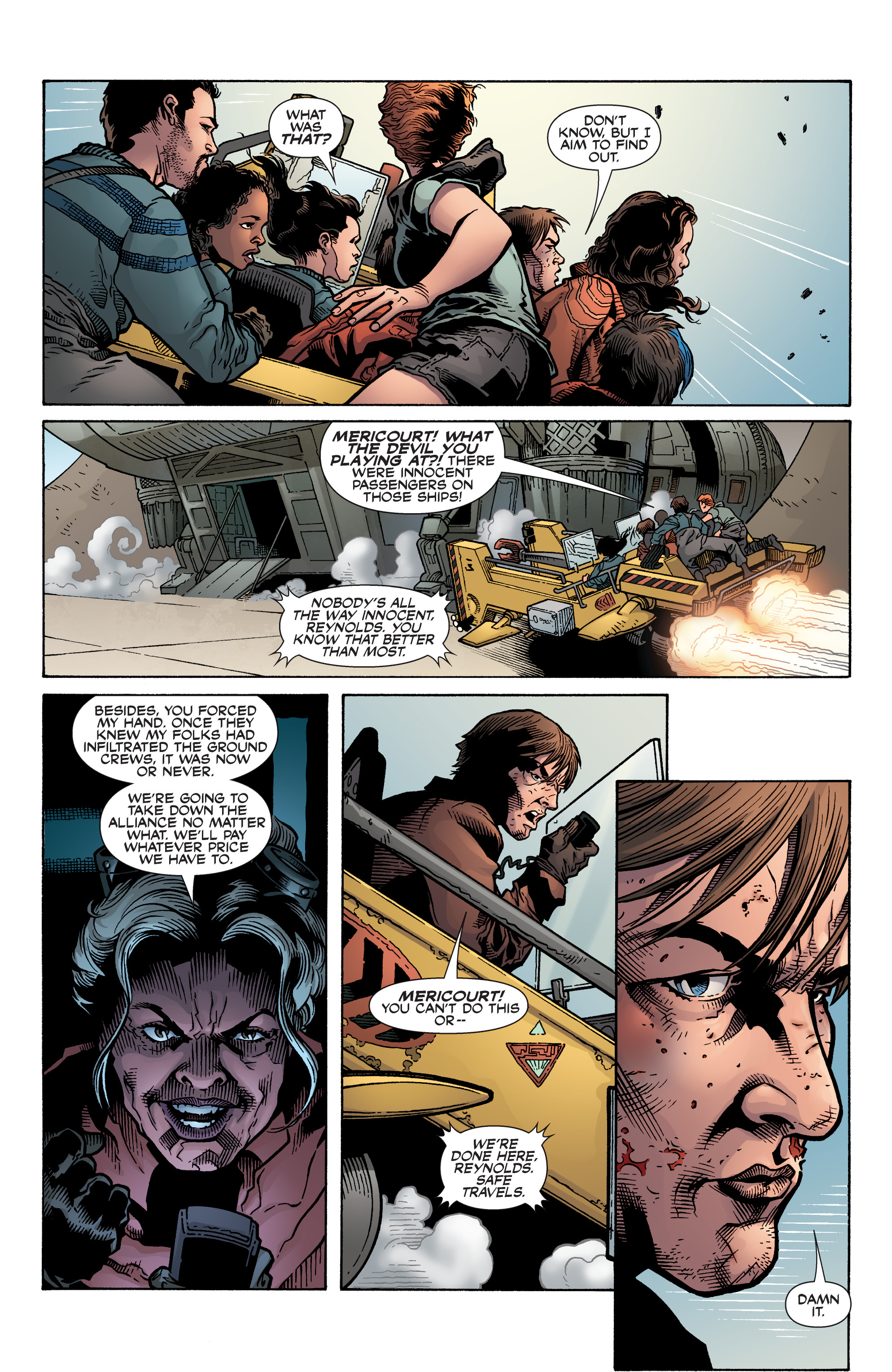 Read online Serenity: Firefly Class 03-K64 – No Power in the 'Verse comic -  Issue #6 - 16