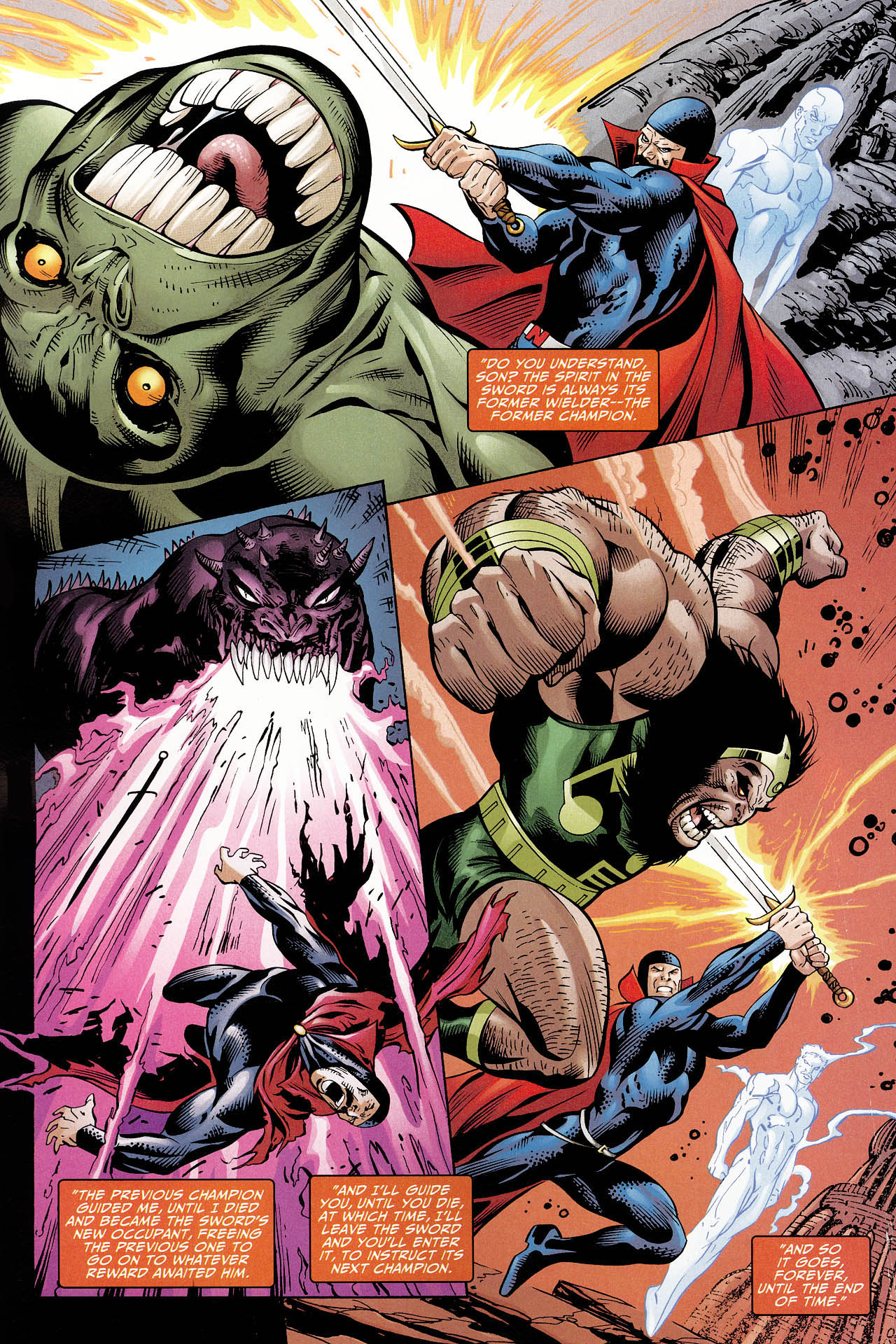 Read online Shadowpact comic -  Issue #12 - 19