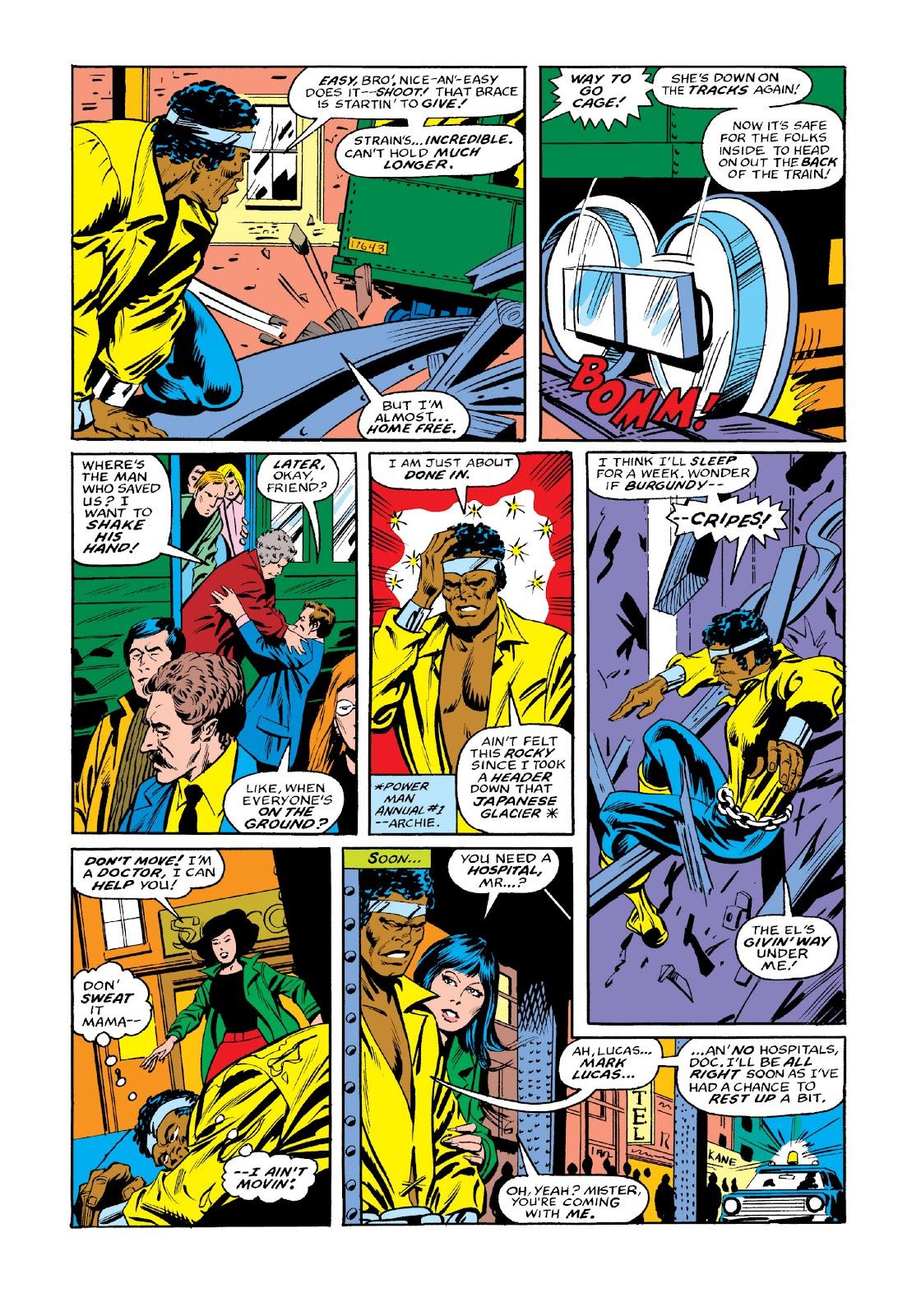 Read online Marvel Masterworks: Luke Cage, Power Man comic -  Issue # TPB 3 (Part 3) - 105