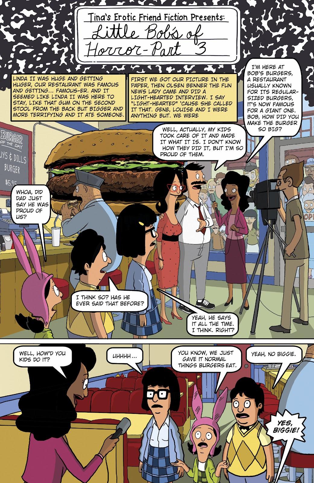 Bob's Burgers (2015) Issue #16 #16 - English 18