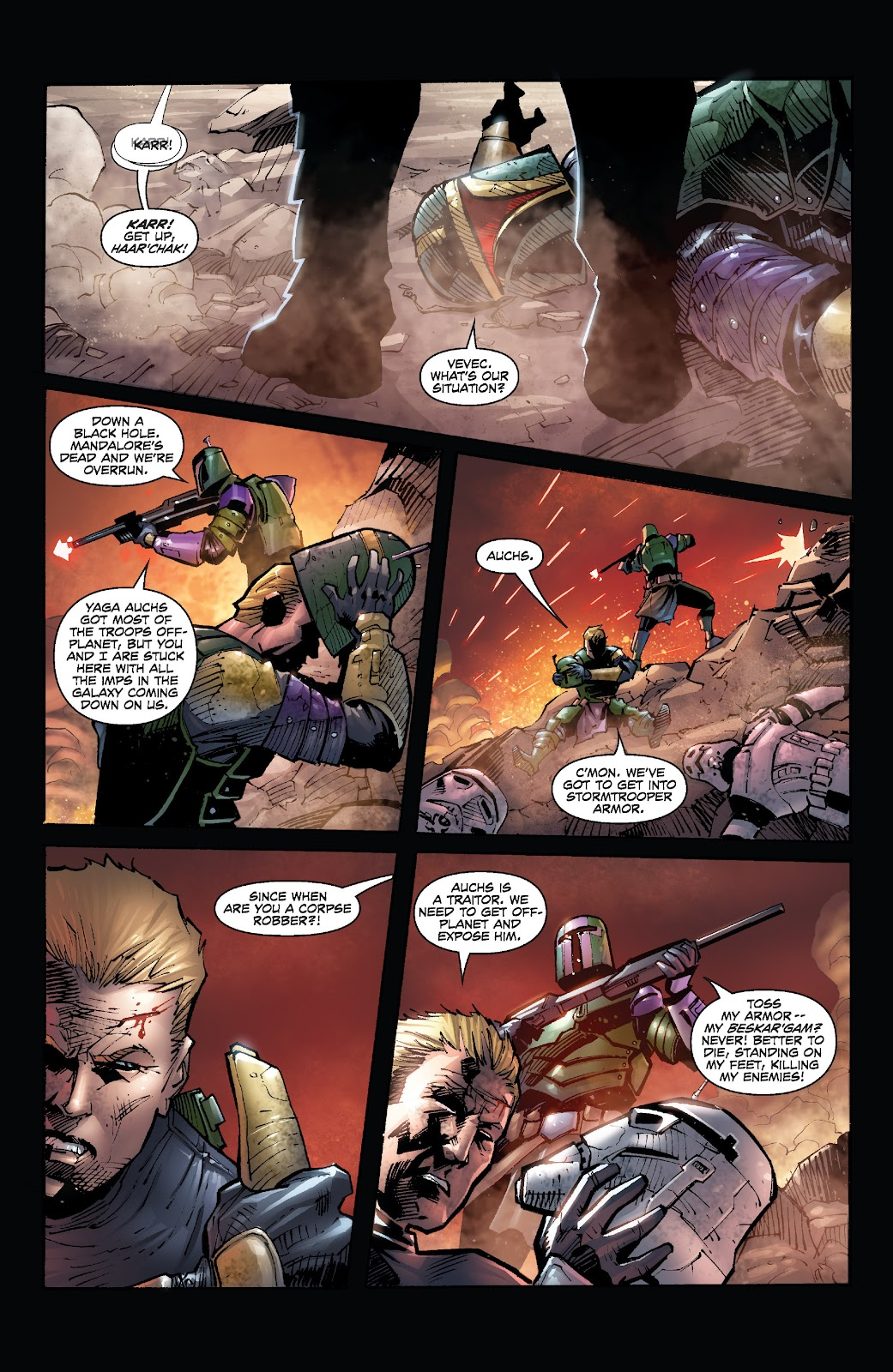 Read online Star Wars Legends: Legacy - Epic Collection comic -  Issue # TPB 2 (Part 5) - 17