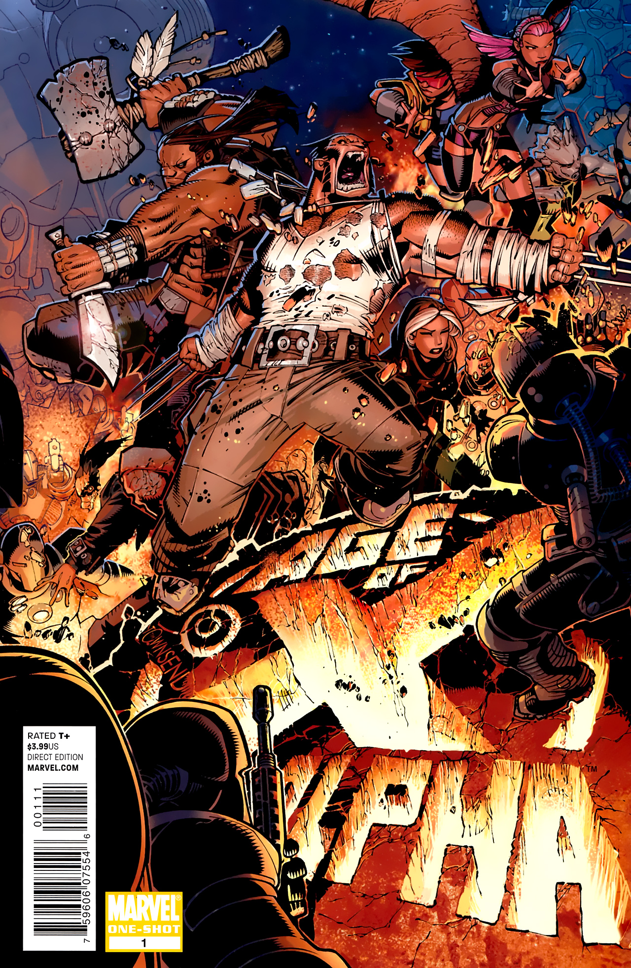 Read online Age of X: Alpha comic -  Issue #Age of X: Alpha Full - 1