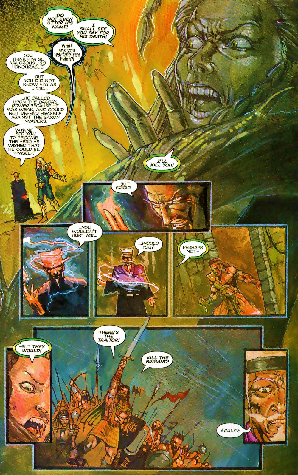 More Than Mortal: Sagas issue 3 - Page 19