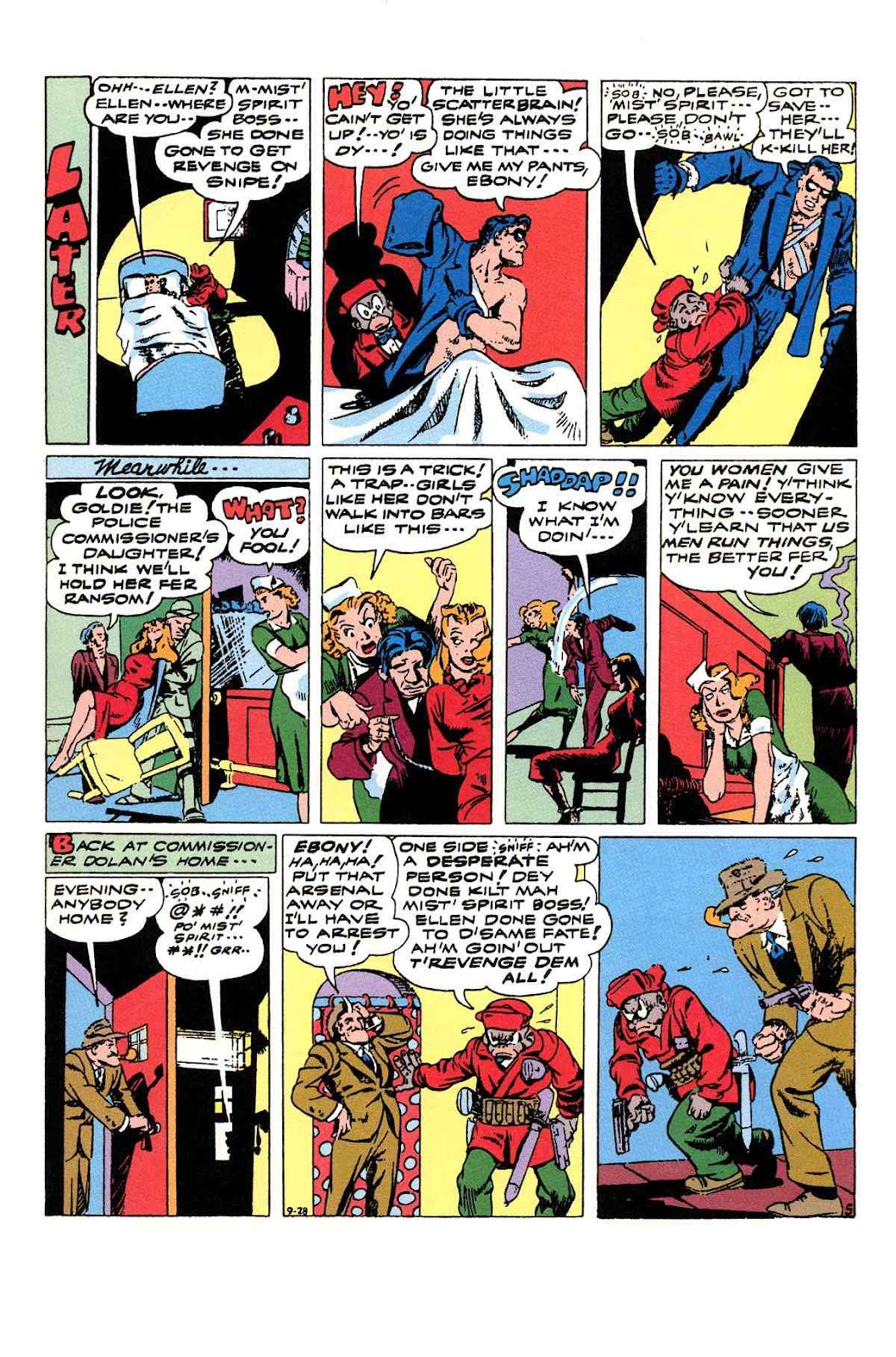 Read online Will Eisner's The Spirit Archives comic -  Issue # TPB 3 (Part 2) - 2