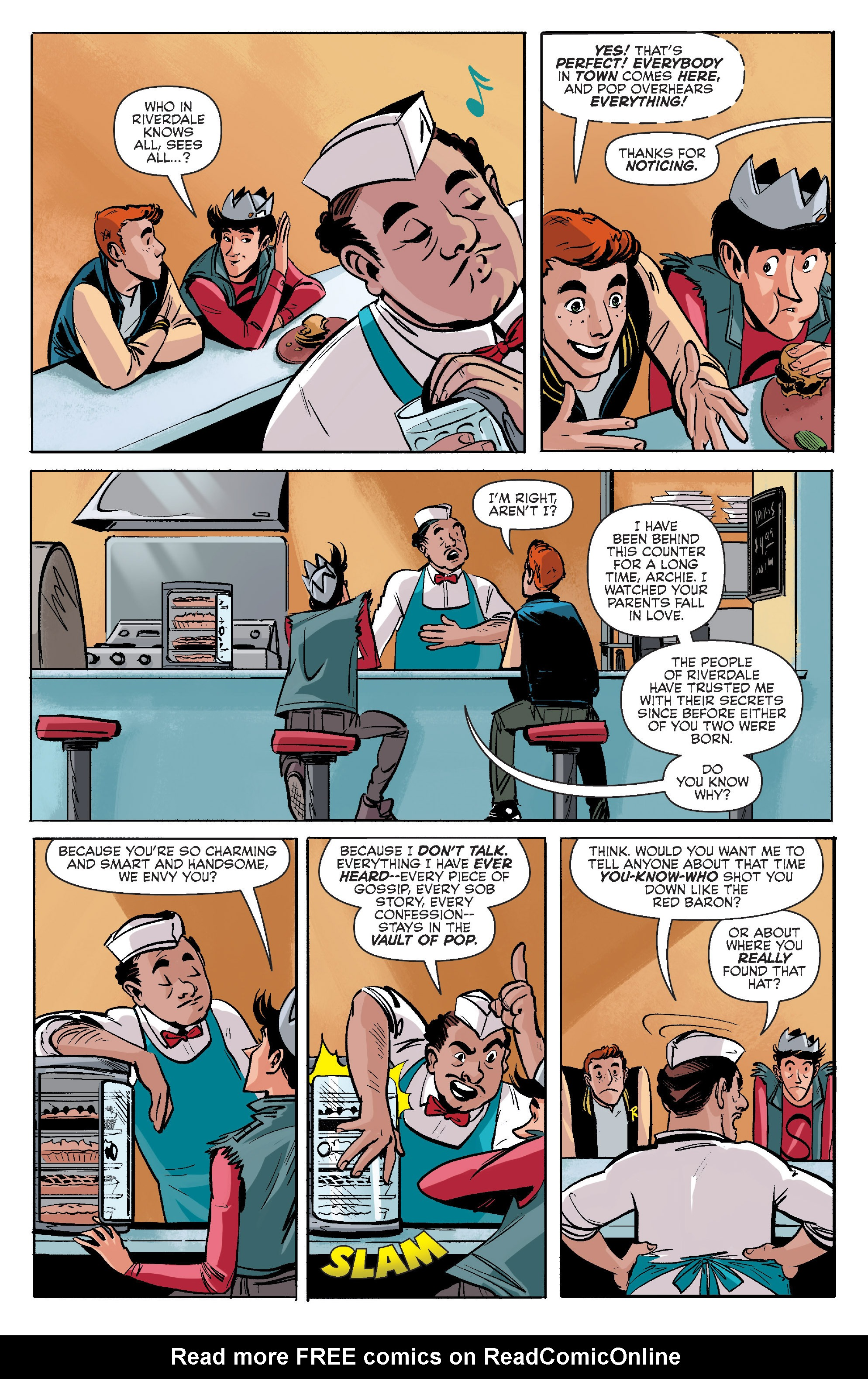 Read online Archie (2015) comic -  Issue #7 - 11