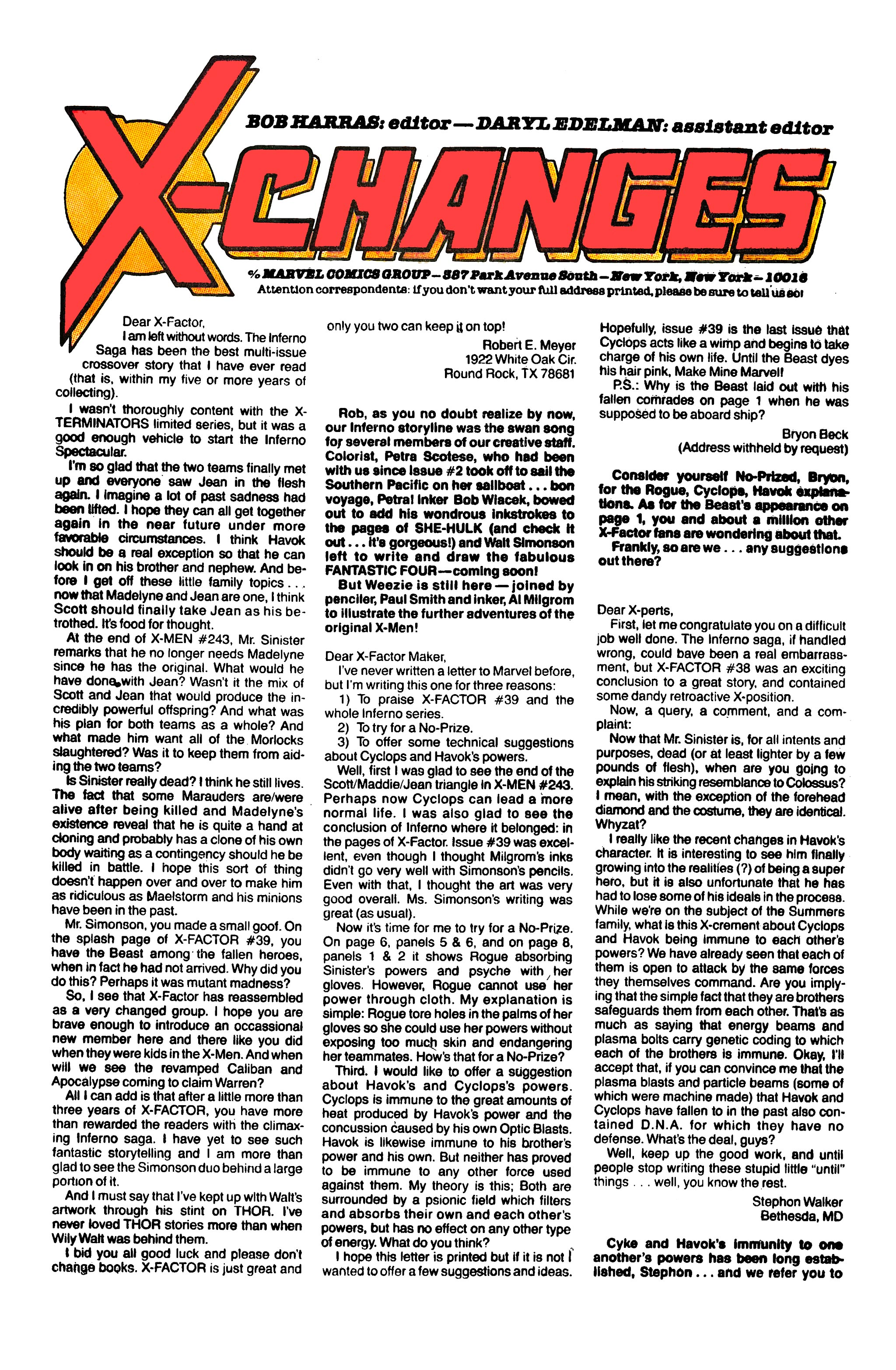 Read online X-Factor (1986) comic -  Issue #43 - 23