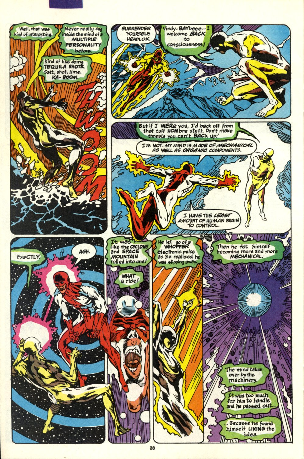 Read online Alpha Flight (1983) comic -  Issue #93 - 23