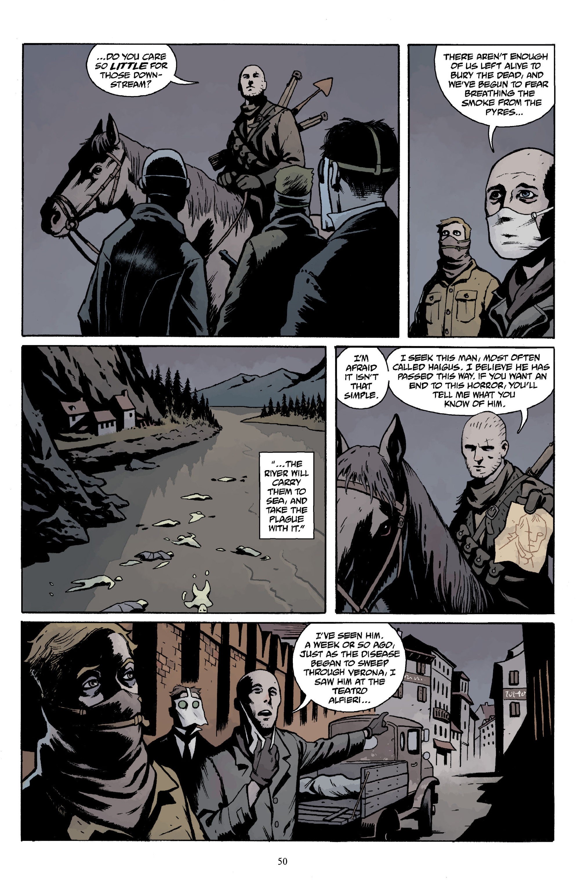 Read online Baltimore Volume 3: A Passing Stranger and Other Stories comic -  Issue # Full - 52