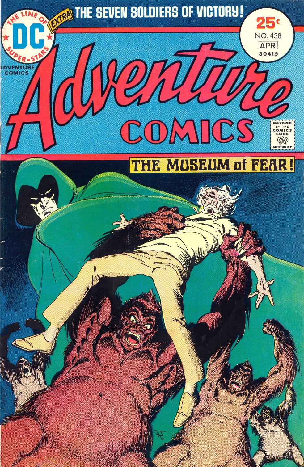 Read online Adventure Comics (1938) comic -  Issue #438 - 1