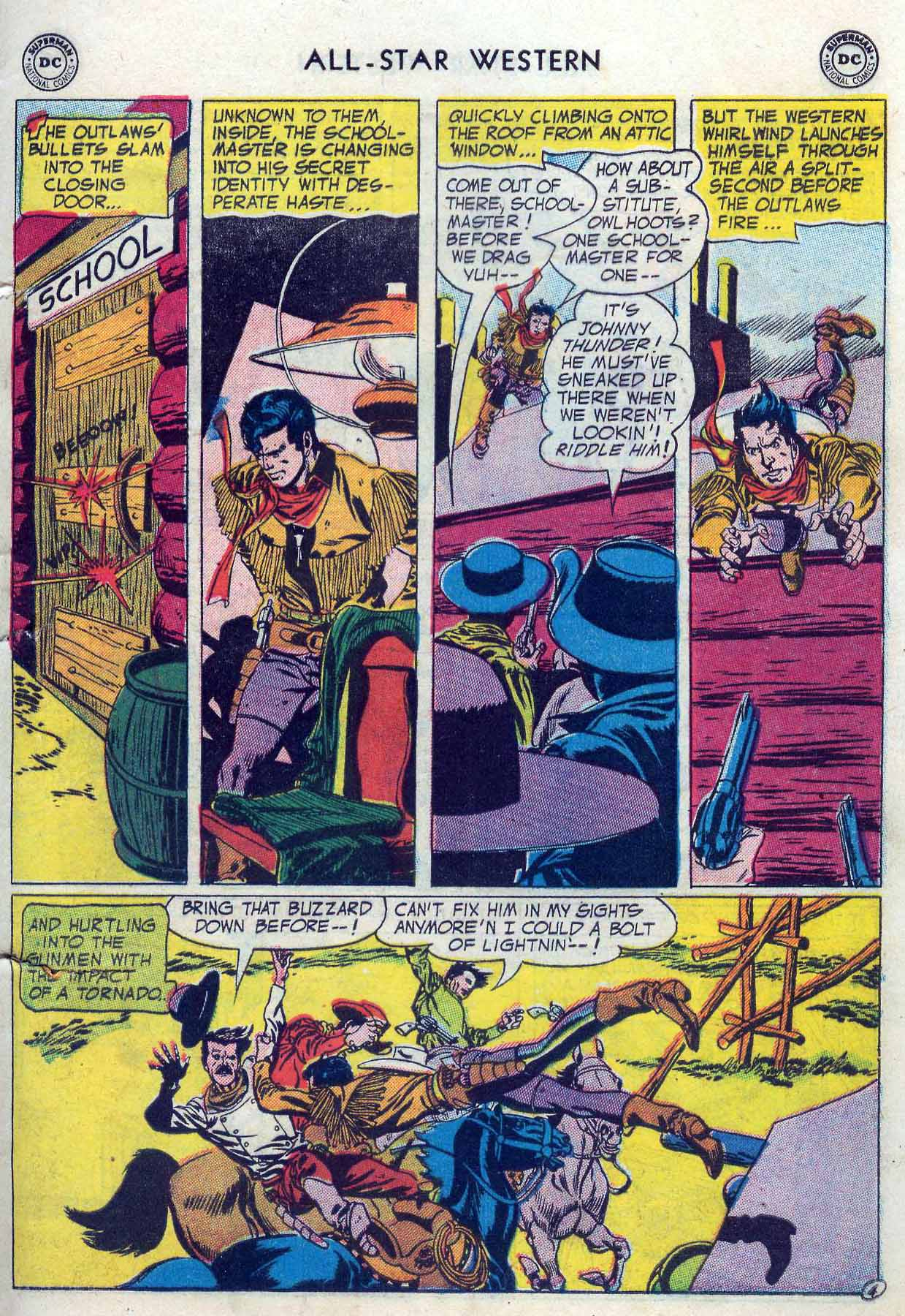 Read online All-Star Western (1951) comic -  Issue #85 - 31