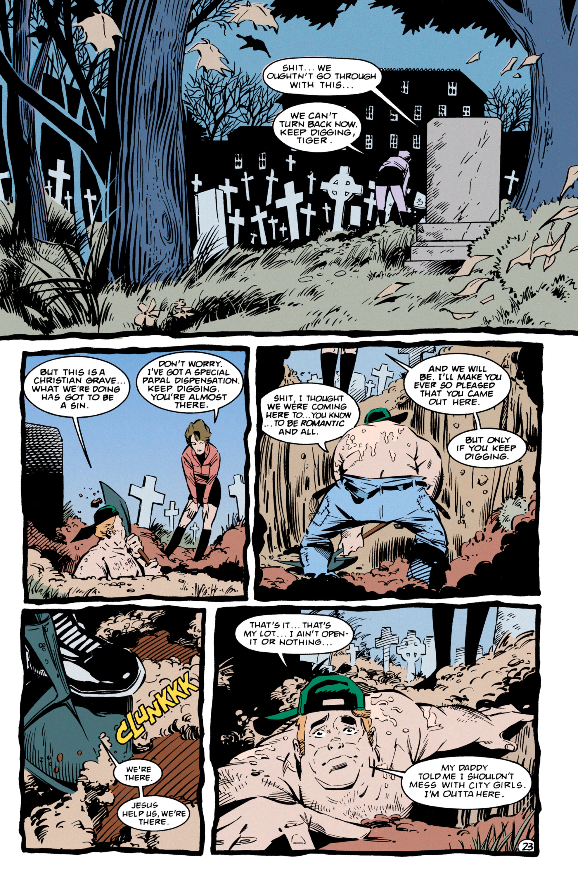 Read online Shade, the Changing Man comic -  Issue #56 - 24
