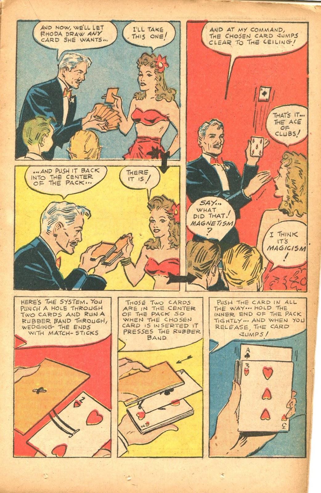 Read online Super-Magician Comics comic -  Issue #35 - 21
