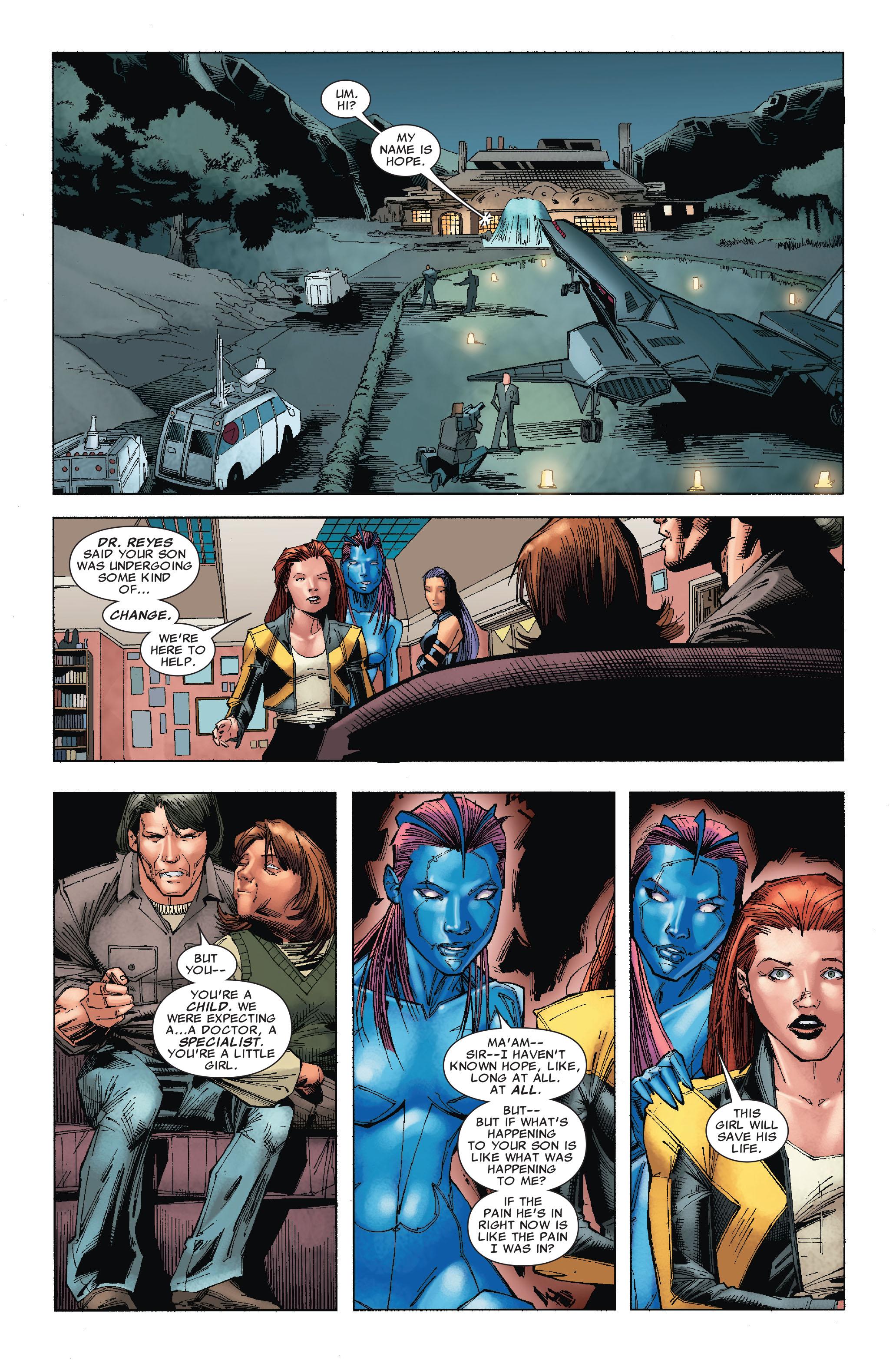 Read online Uncanny X-Men (1963) comic -  Issue #527 - 17