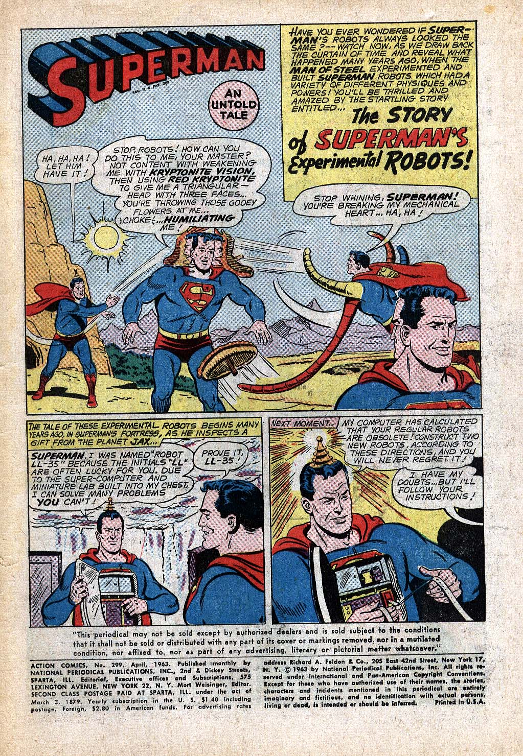 Read online Action Comics (1938) comic -  Issue #299 - 3