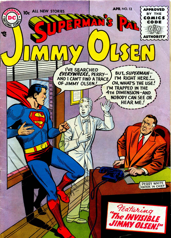 Supermans Pal Jimmy Olsen (1954) 12 Page 1
