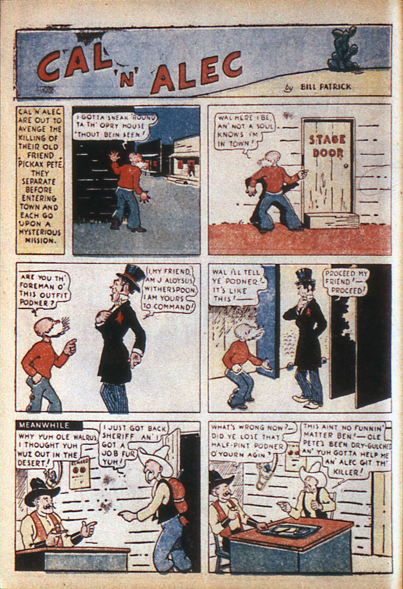 Read online Adventure Comics (1938) comic -  Issue #6 - 17