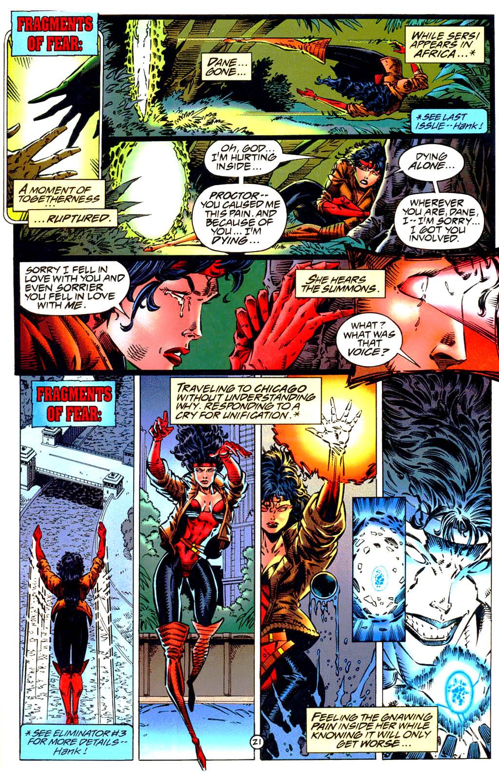 Read online UltraForce (1994) comic -  Issue #9 - 22