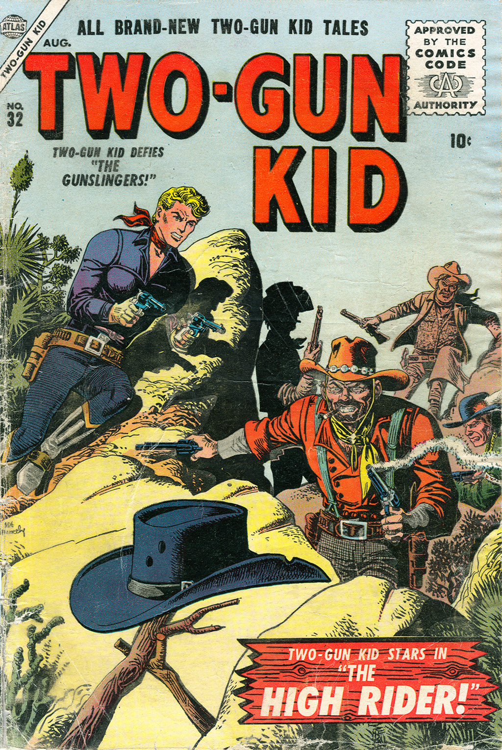Read online Two-Gun Kid comic -  Issue #32 - 1