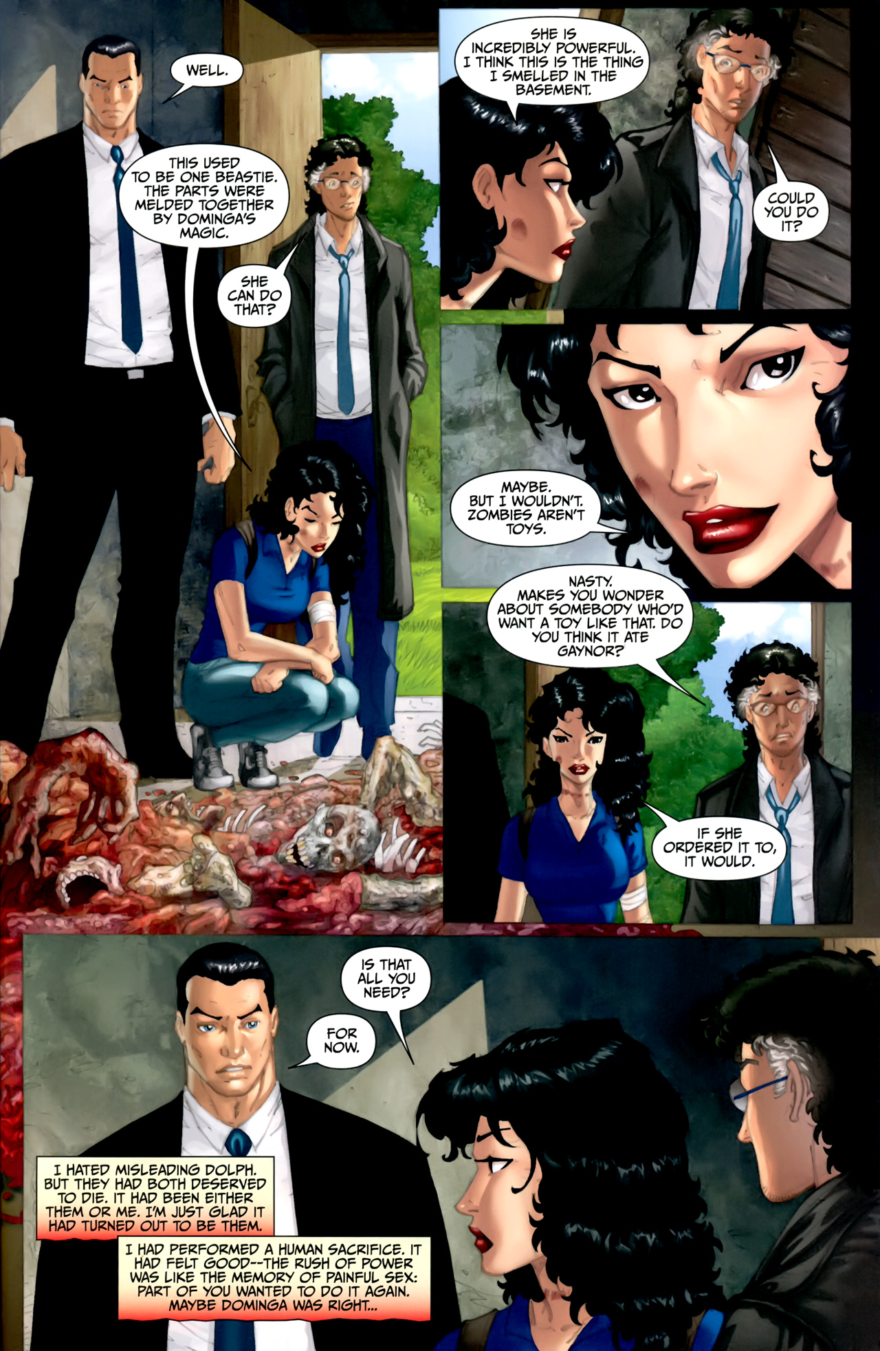 Read online Anita Blake: The Laughing Corpse - Executioner comic -  Issue #5 - 28
