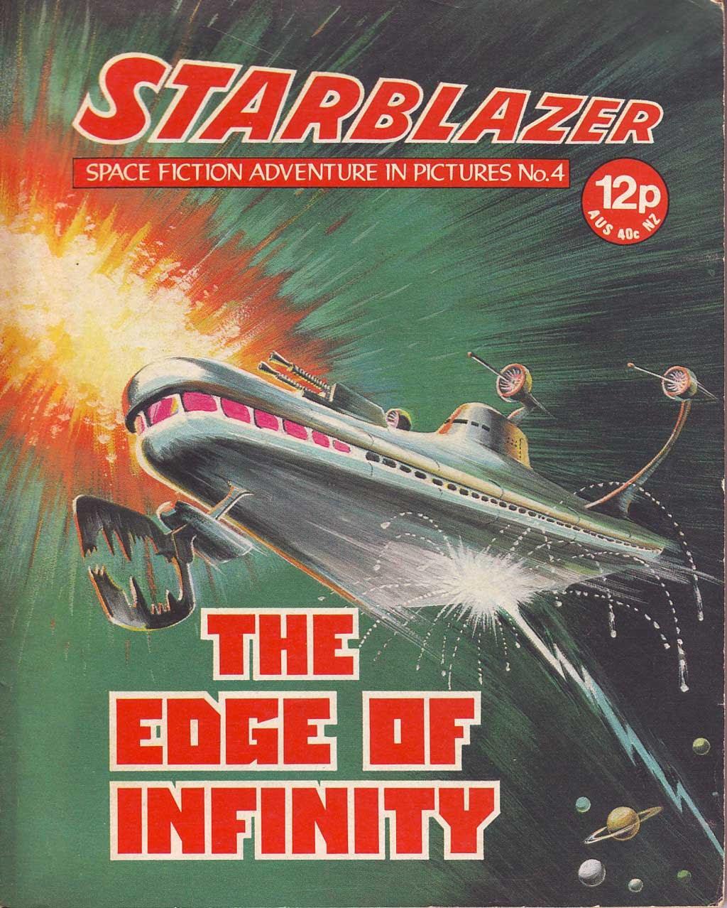 Starblazer issue 4 - Page 1