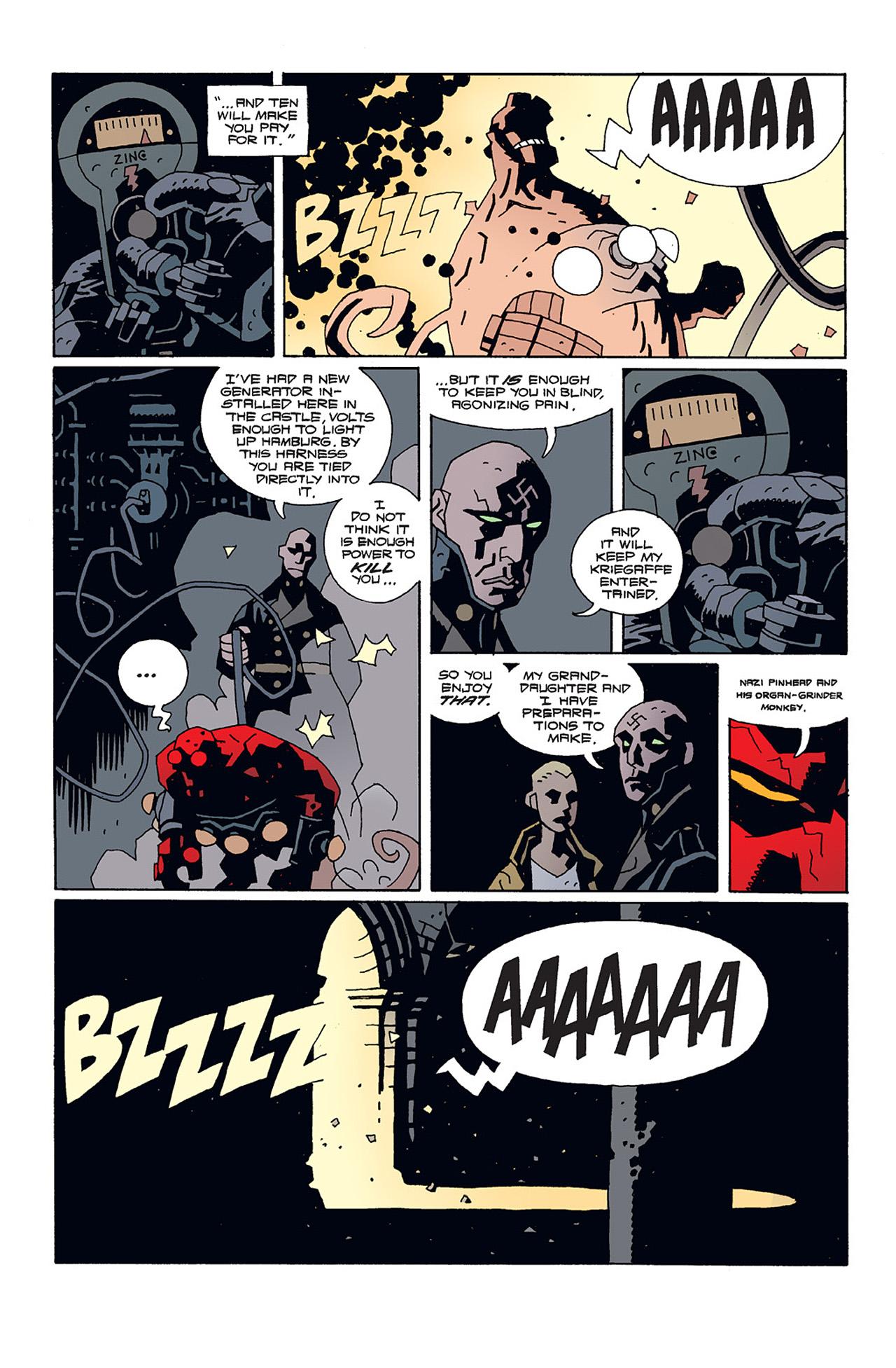 Read online Hellboy: Conqueror Worm comic -  Issue #2 - 5