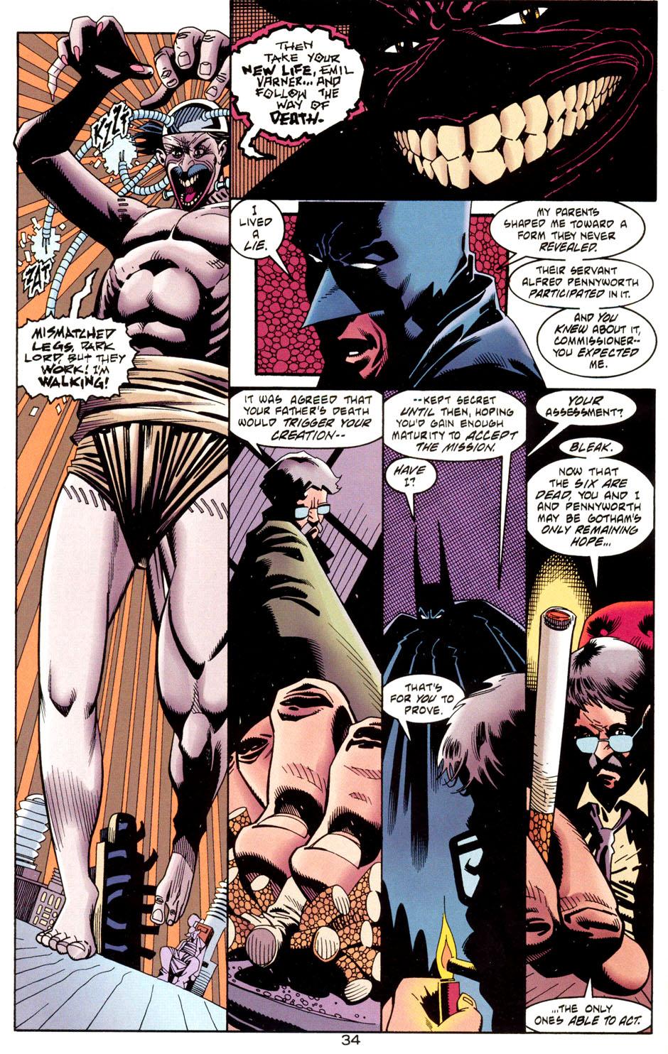 Read online Batman: Haunted Gotham comic -  Issue #1 - 36