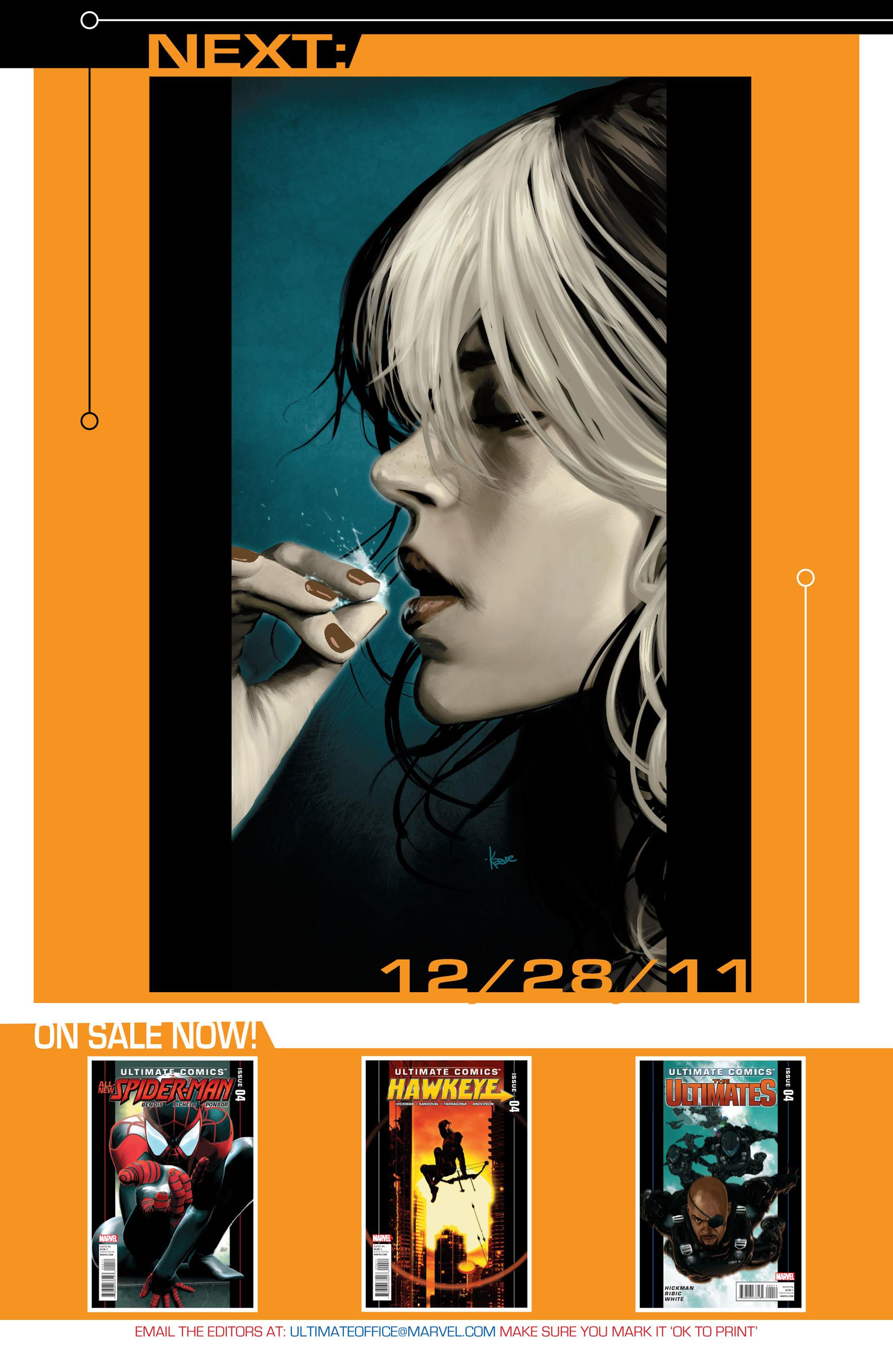 Read online Ultimate Comics X-Men comic -  Issue #4 - 22