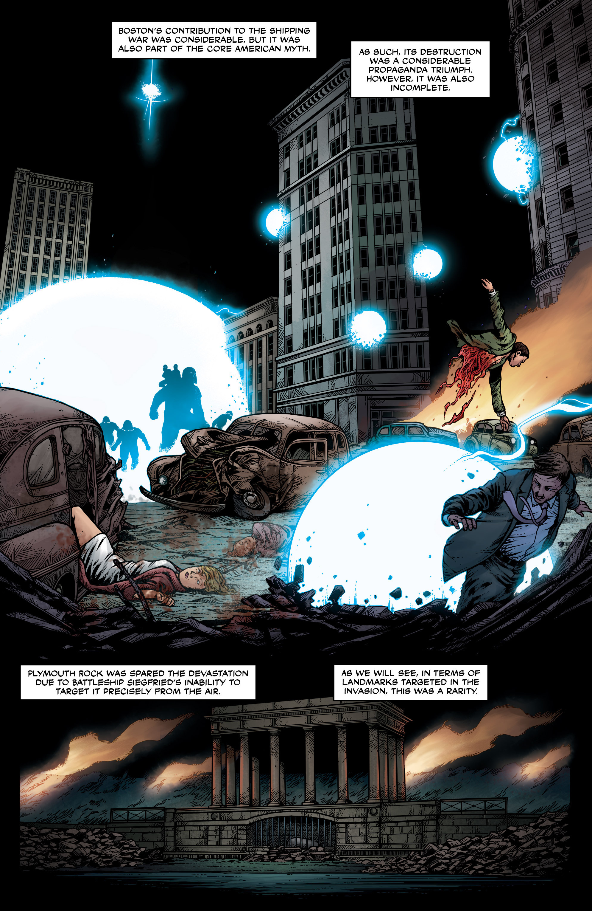 Read online Uber: Invasion comic -  Issue #1 - 17