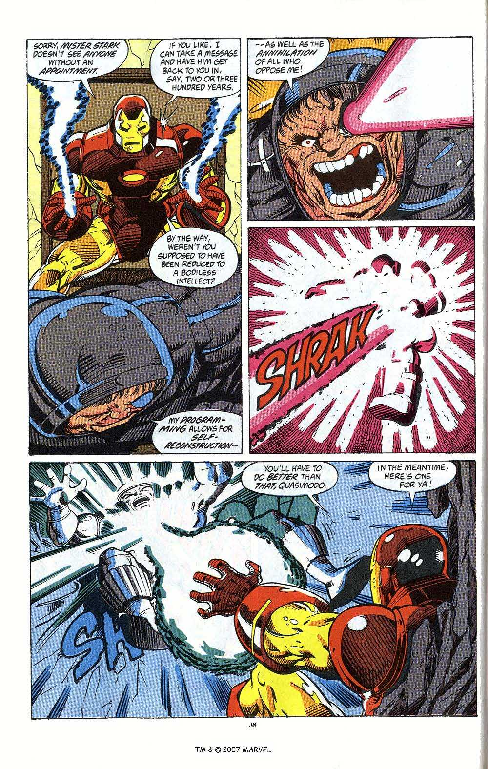 Iron Man Annual issue 12 - Page 40