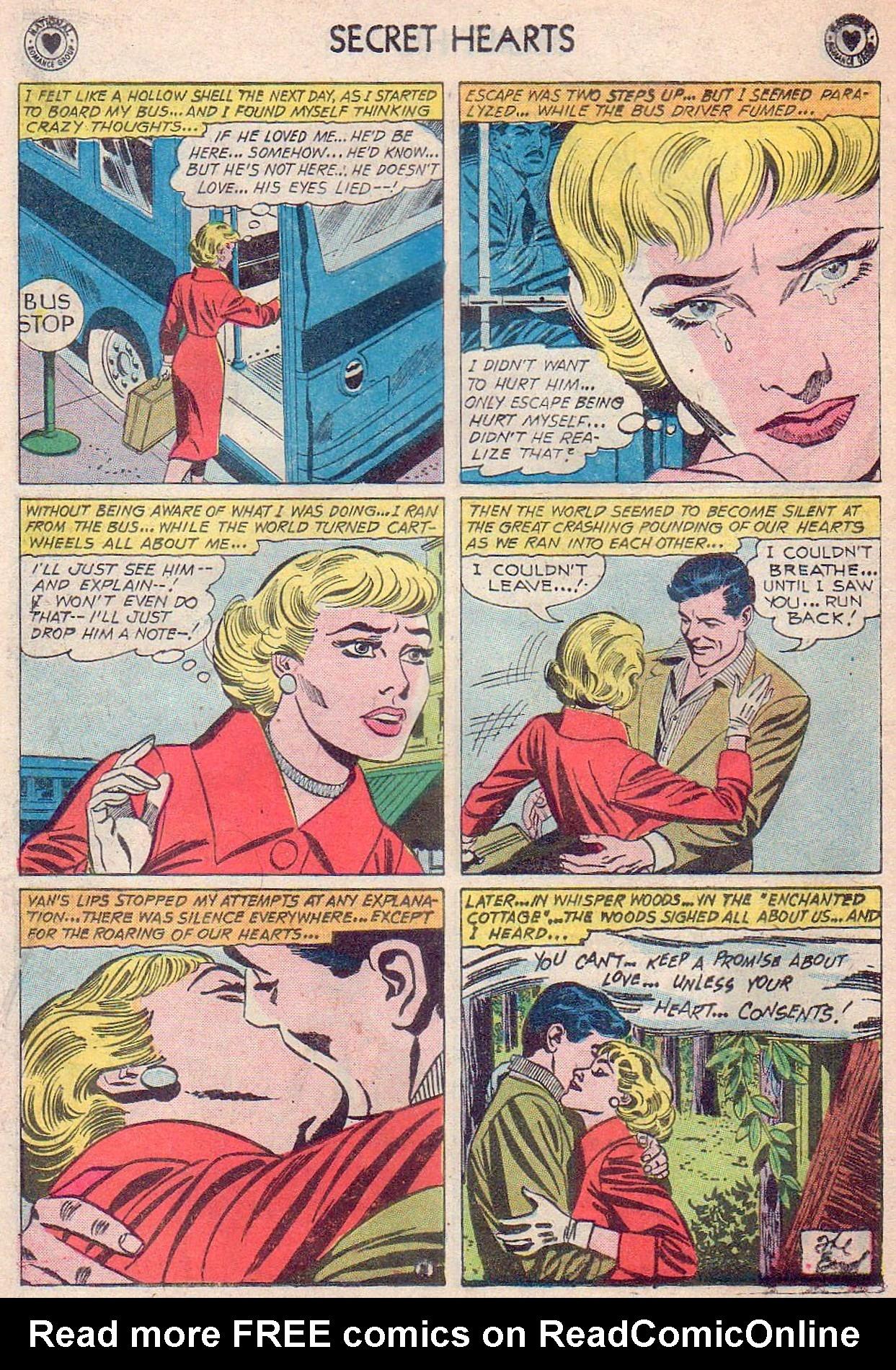 Read online Secret Hearts comic -  Issue #61 - 34