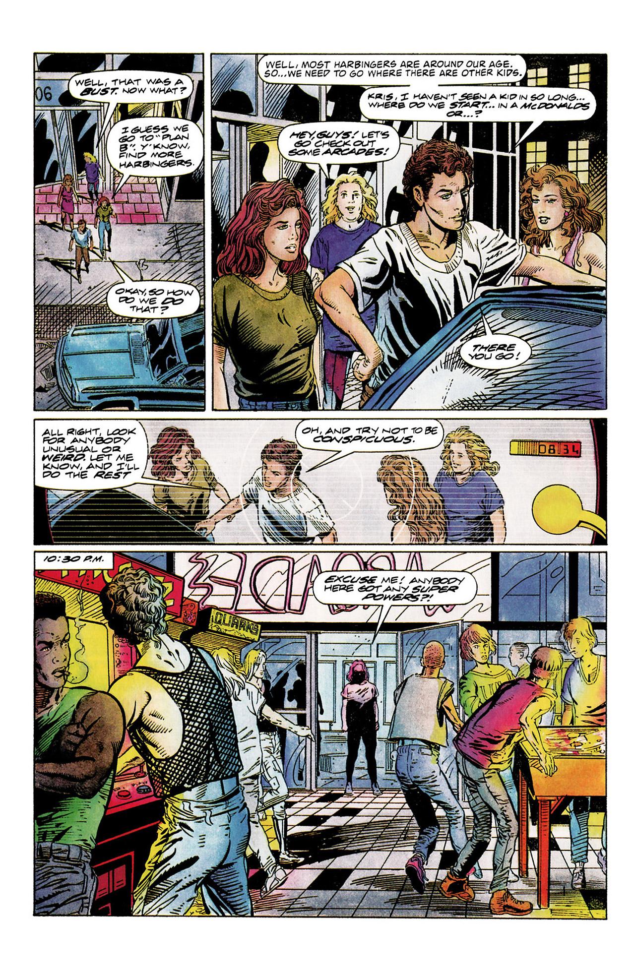 Read online Harbinger (1992) comic -  Issue #10 - 13