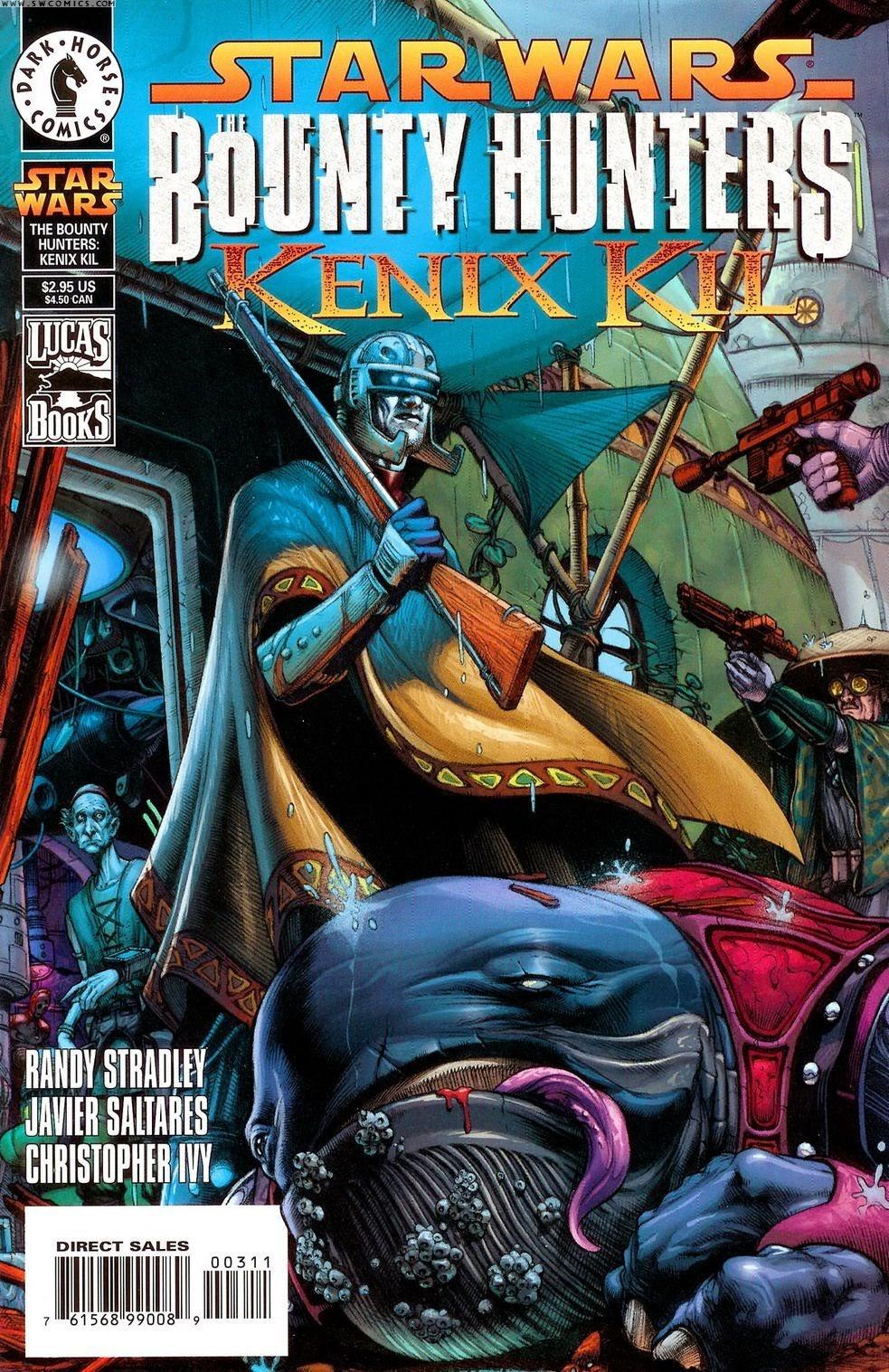 Star Wars: The Bounty Hunters issue Issue_Kenix_Kil - Page 1