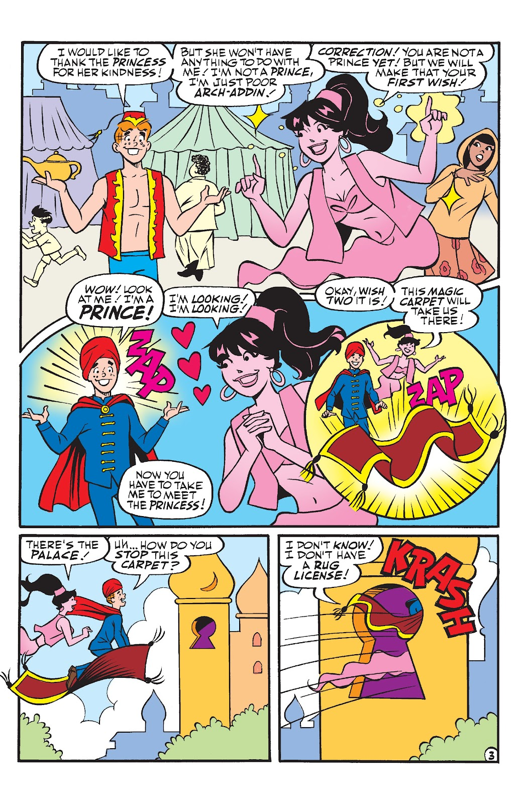 Read online Betty & Veronica Friends Forever: Return To Storybook Land comic -  Issue # Full - 5