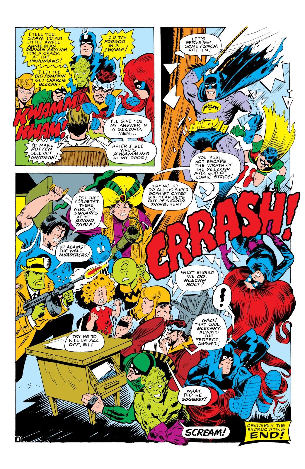Read online Marvel Masterworks: The Inhumans comic -  Issue # TPB 1 (Part 3) - 33
