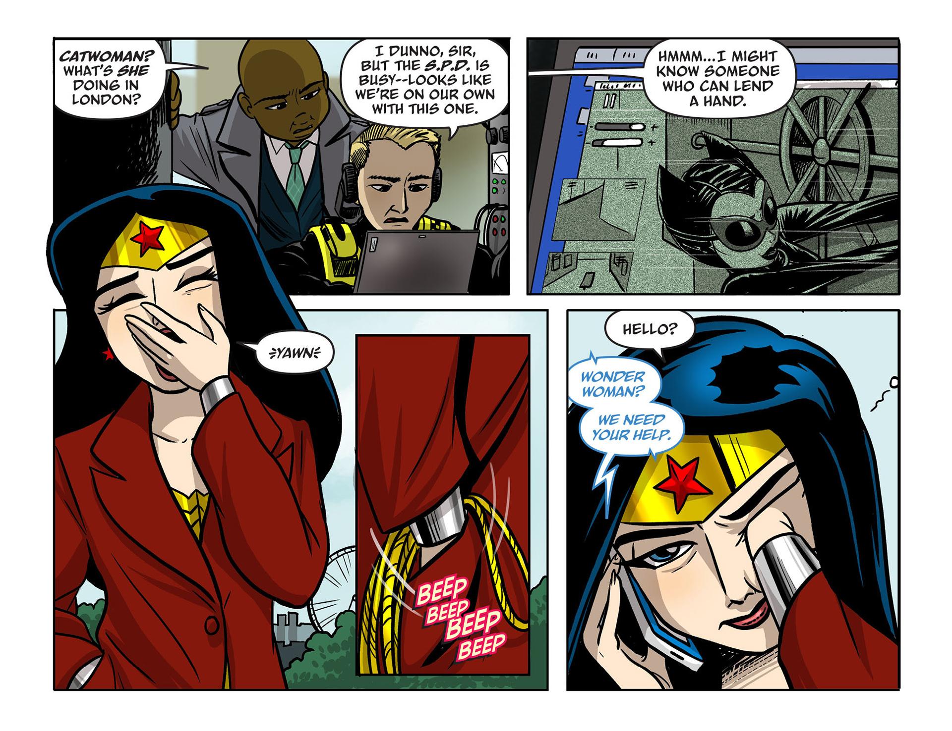 Read online Sensation Comics Featuring Wonder Woman comic -  Issue #9 - 6