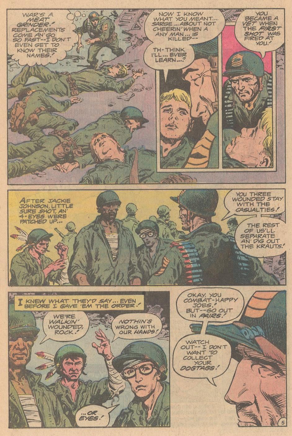 Read online Sgt. Rock comic -  Issue #359 - 6
