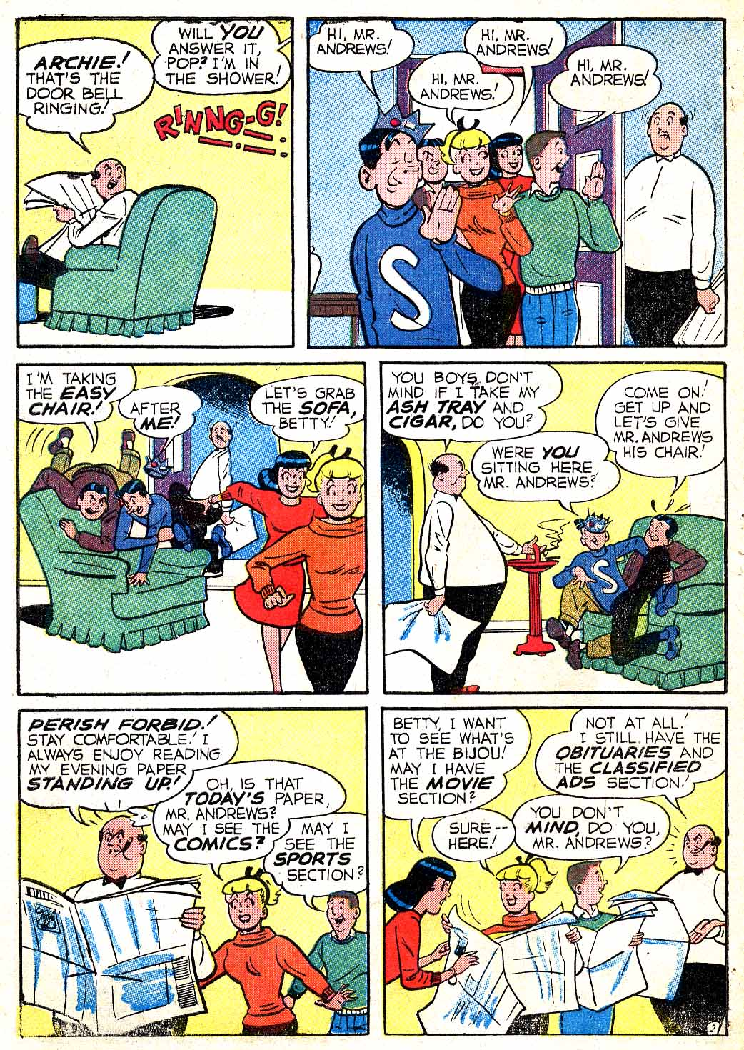 Read online Archie (1960) comic -  Issue #115 - 30