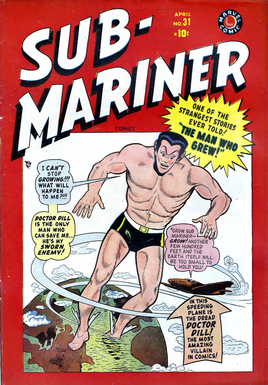 Sub-Mariner Comics 31 Page 1