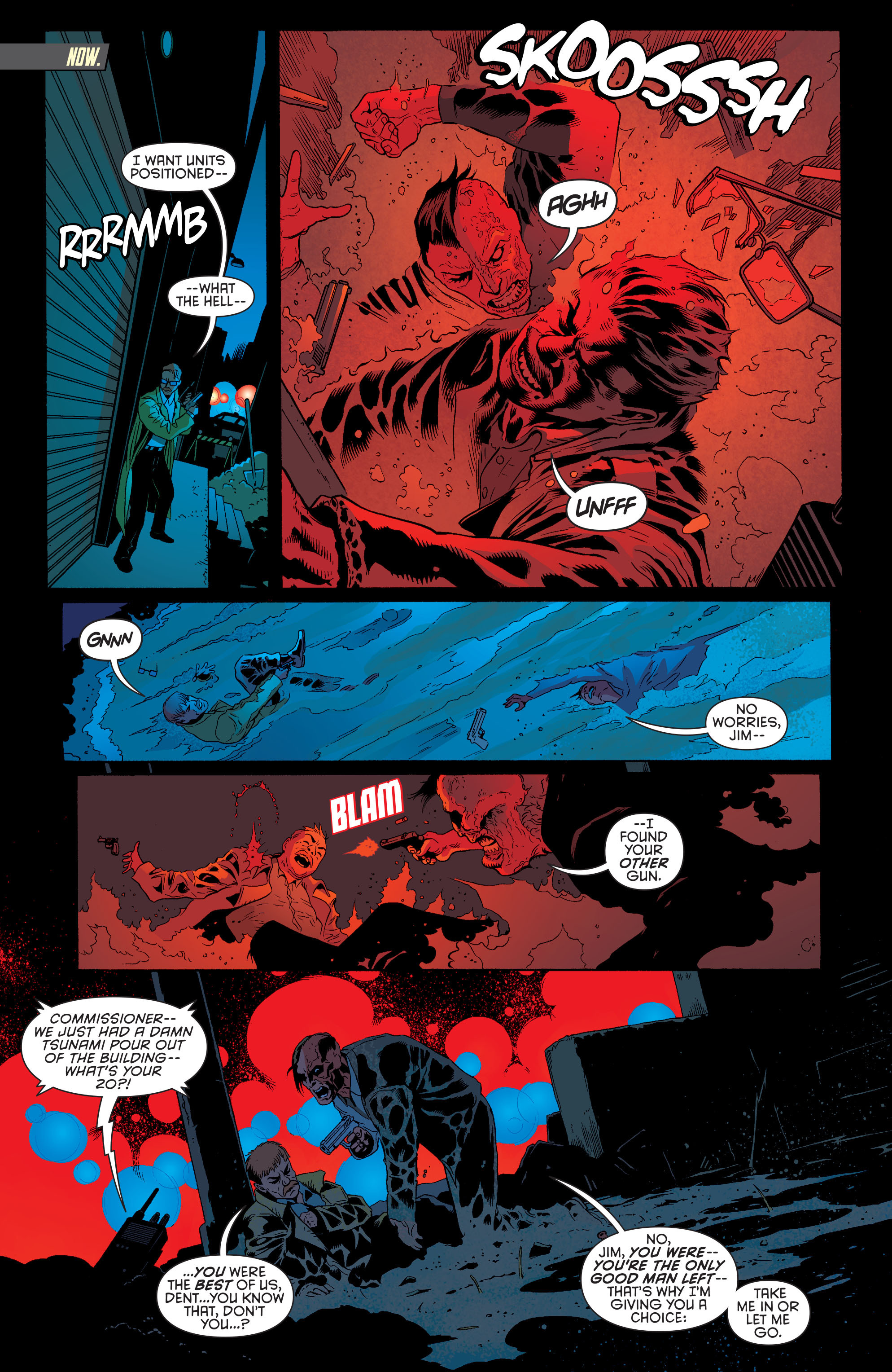 Read online Batman and Robin (2011) comic -  Issue #28 - Batman and Two-Face - 13