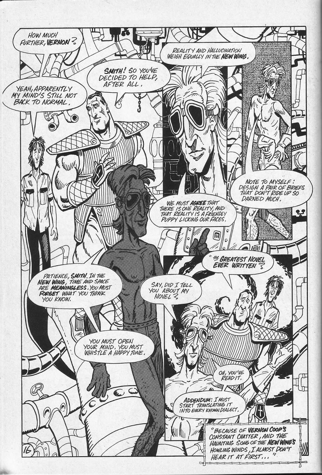 Read online Paul the Samurai (1991) comic -  Issue # TPB - 52
