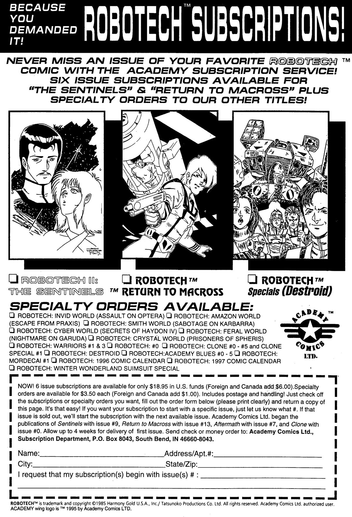 Robotech MechAngel issue 3 - Page 19