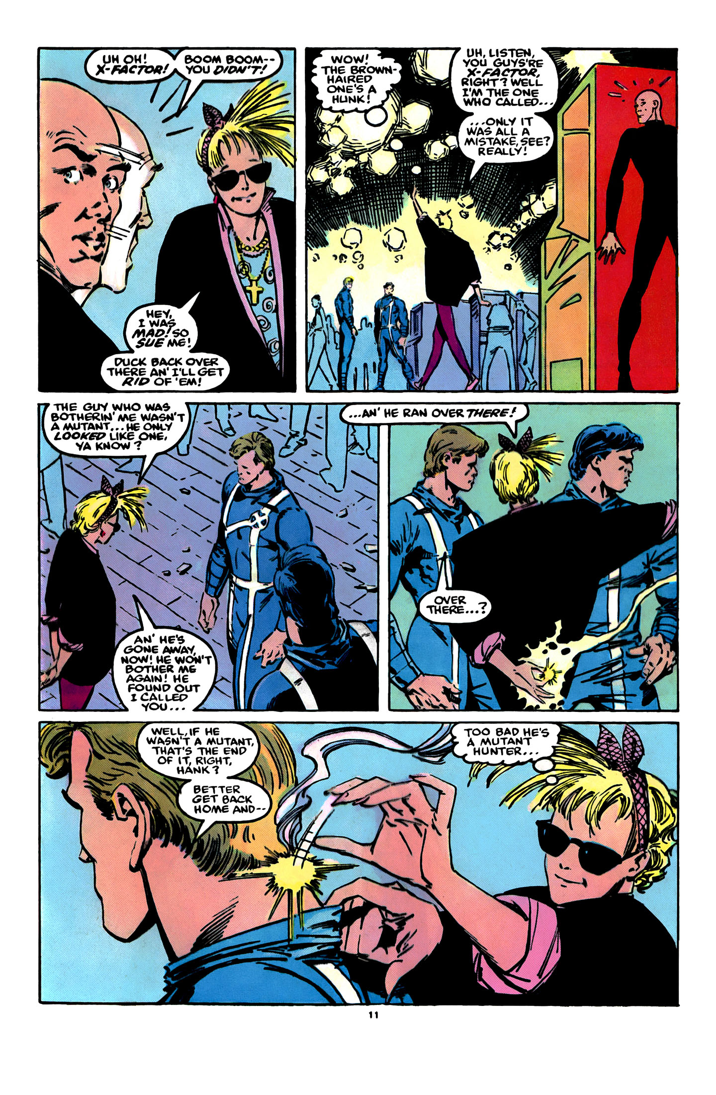 Read online X-Factor (1986) comic -  Issue #12 - 12